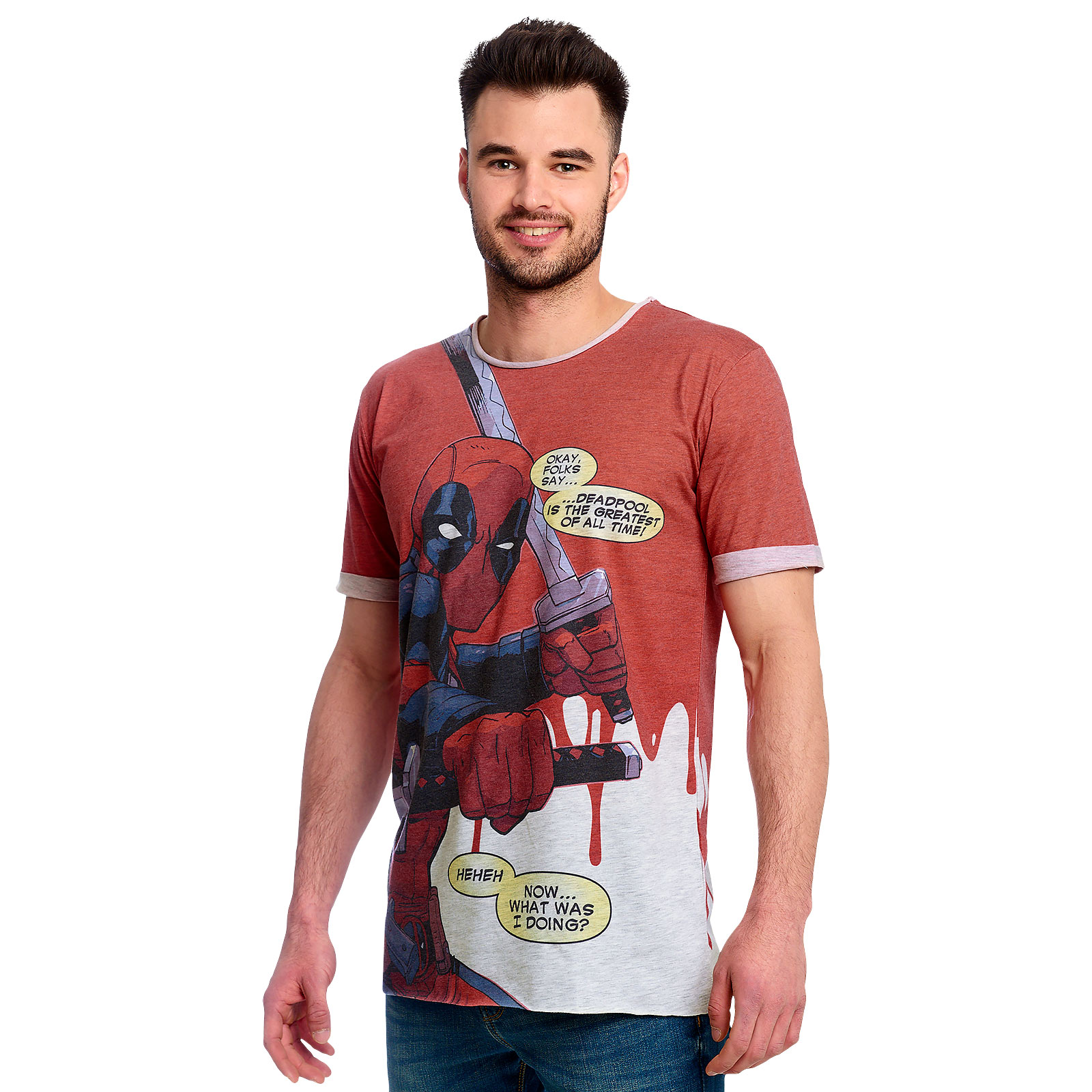 Deadpool - Greatest of All Time Comic T-Shirt