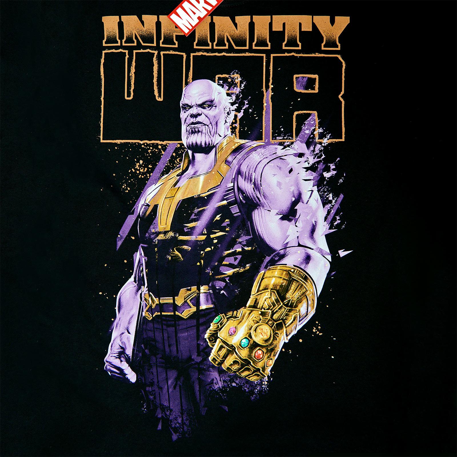 Avengers - Furious Thanos T-Shirt schwarz