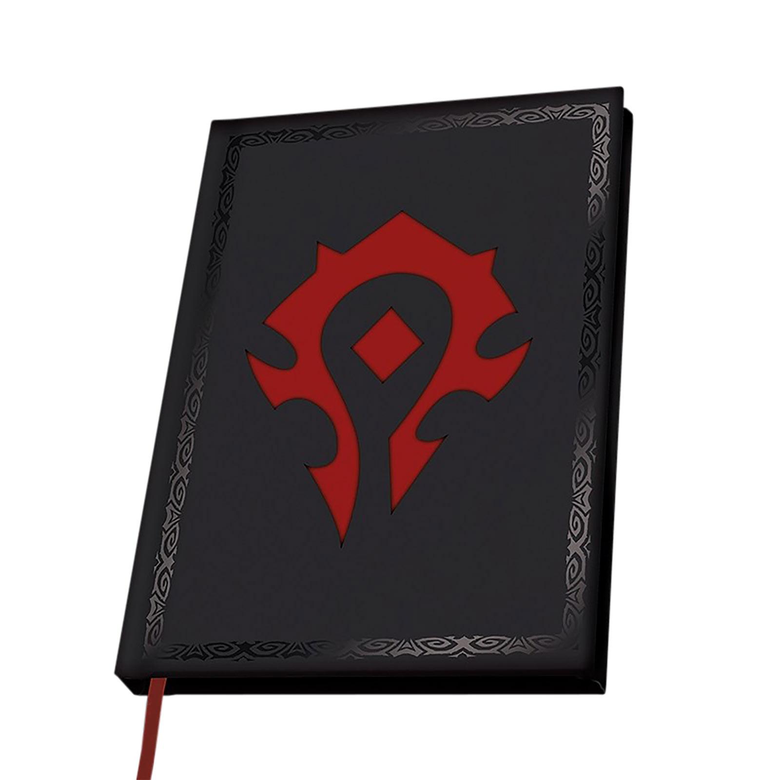 World of Warcraft - Horde Logo Notizbuch
