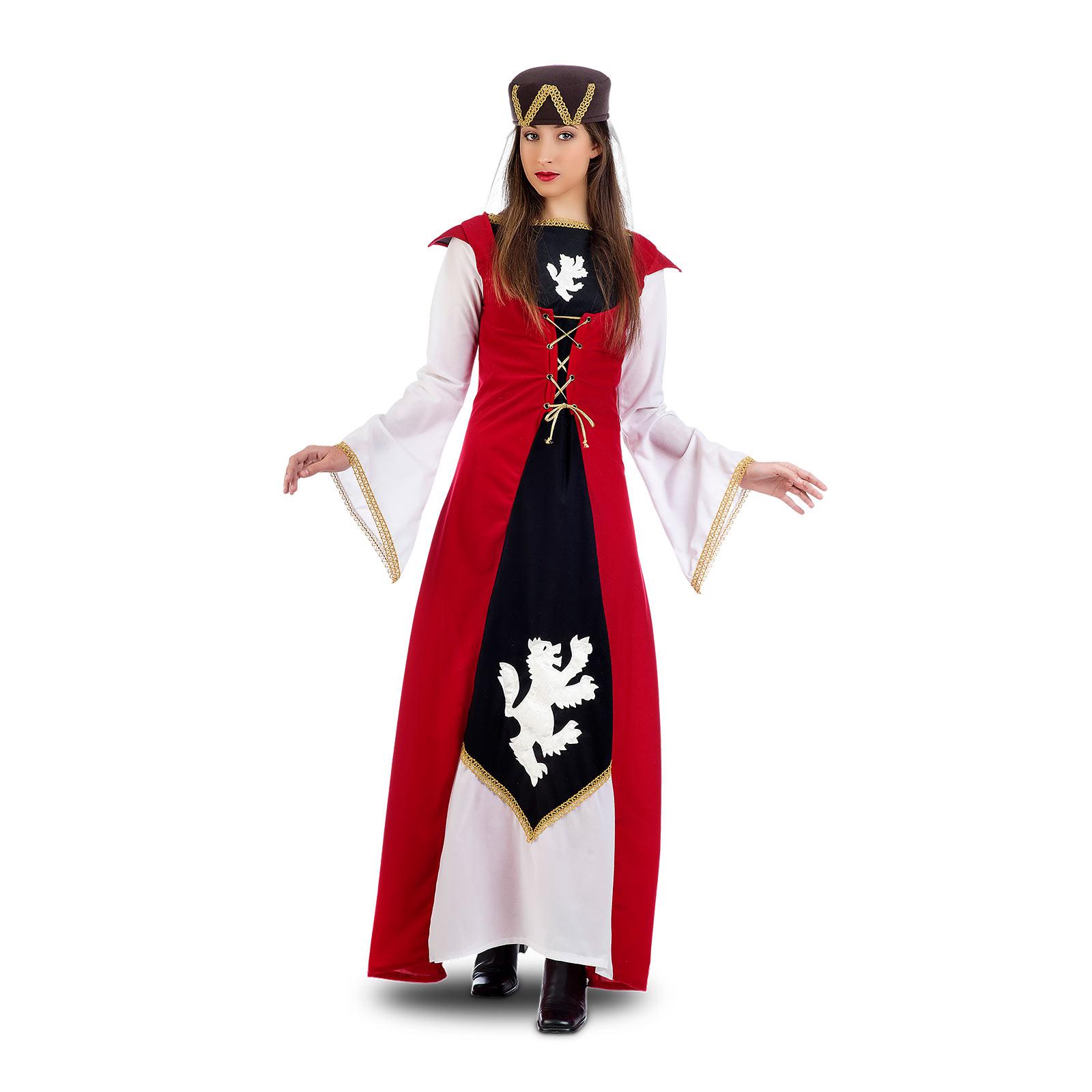 Mittelalter Edelfräulein Löwenherz - Kostüm Damen