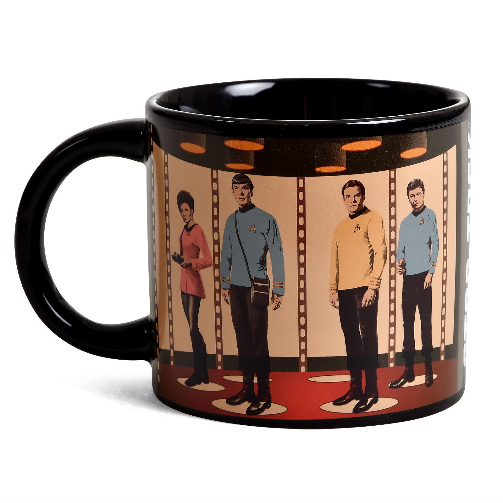 Star Trek - Beam to Planet Thermoeffekt Tasse