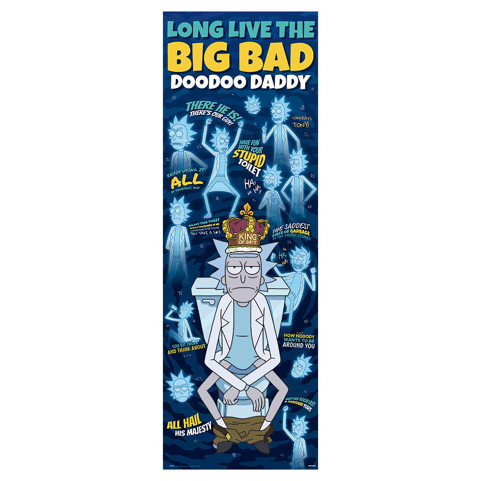 Rick and Morty - Big Bad Doodoo Daddy Türposter
