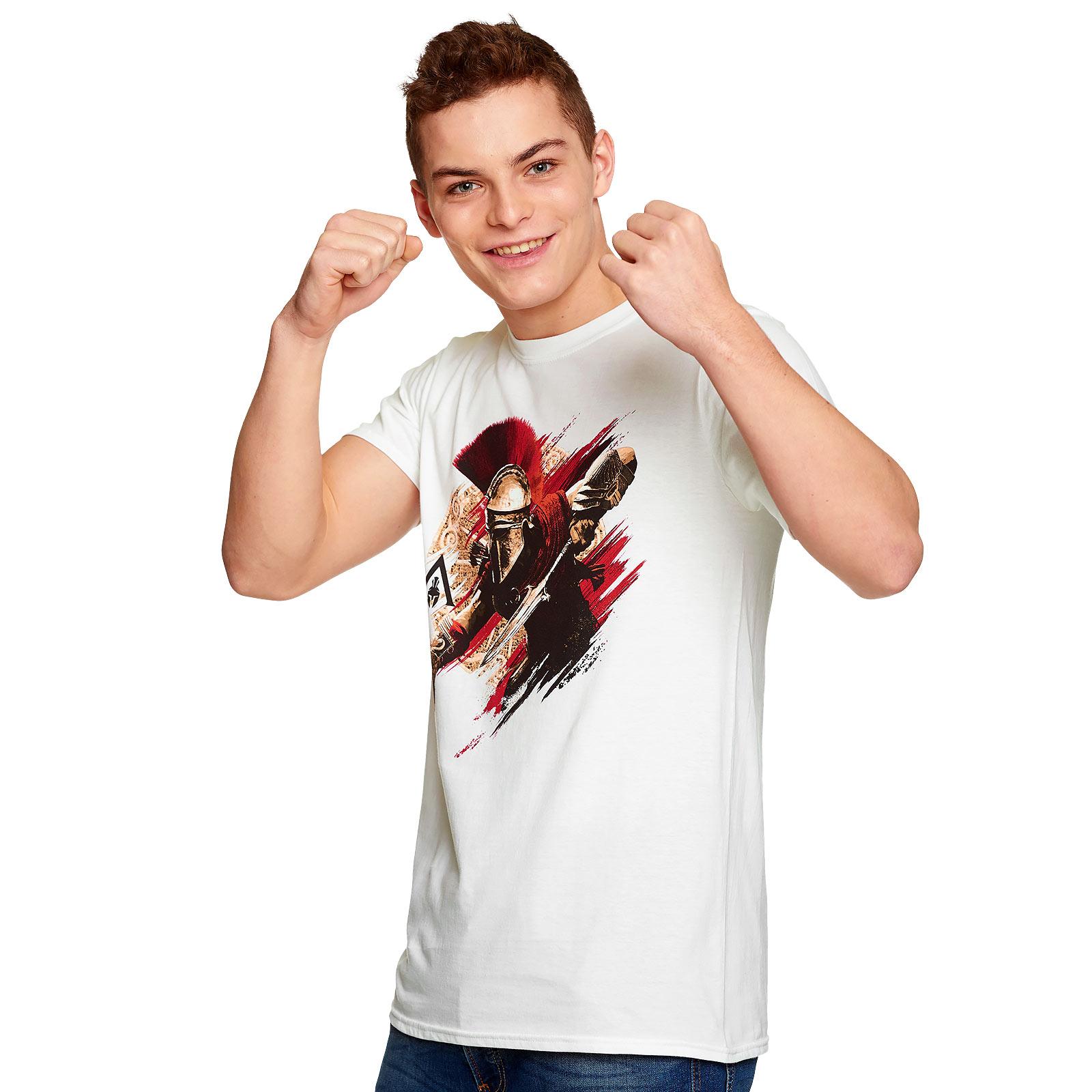 Assassins Creed - Alexios Armour T-Shirt weiß