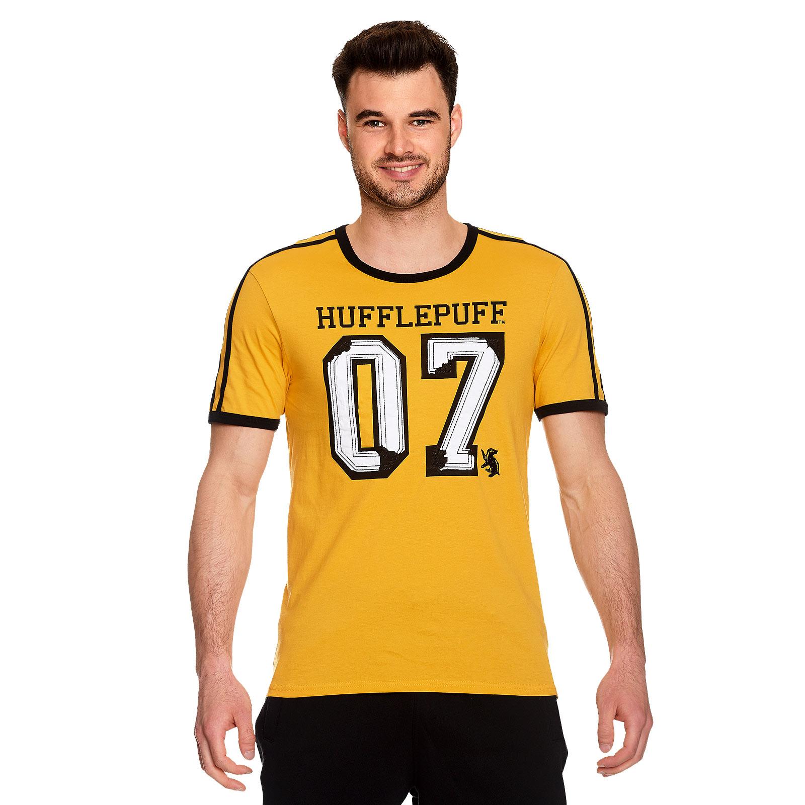 Hufflepuff Sucher Cedric Diggory T-Shirt gelb - Harry Potter