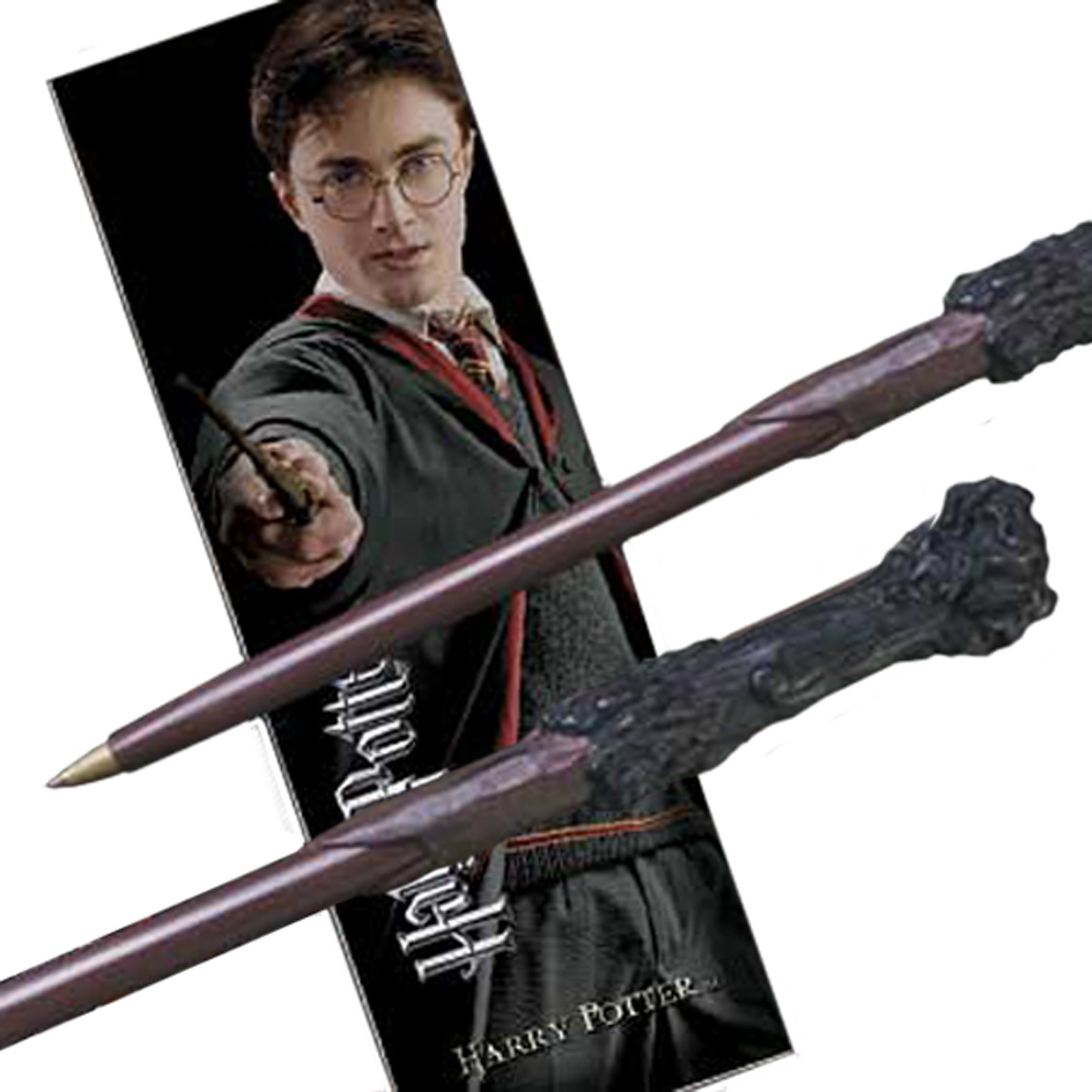 Harry Potter Zauberstabstift & Lesezeichen