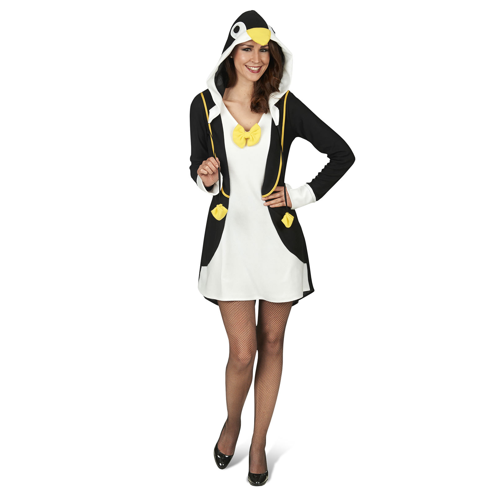 Pinguin Kostümkleid mit Kapuze