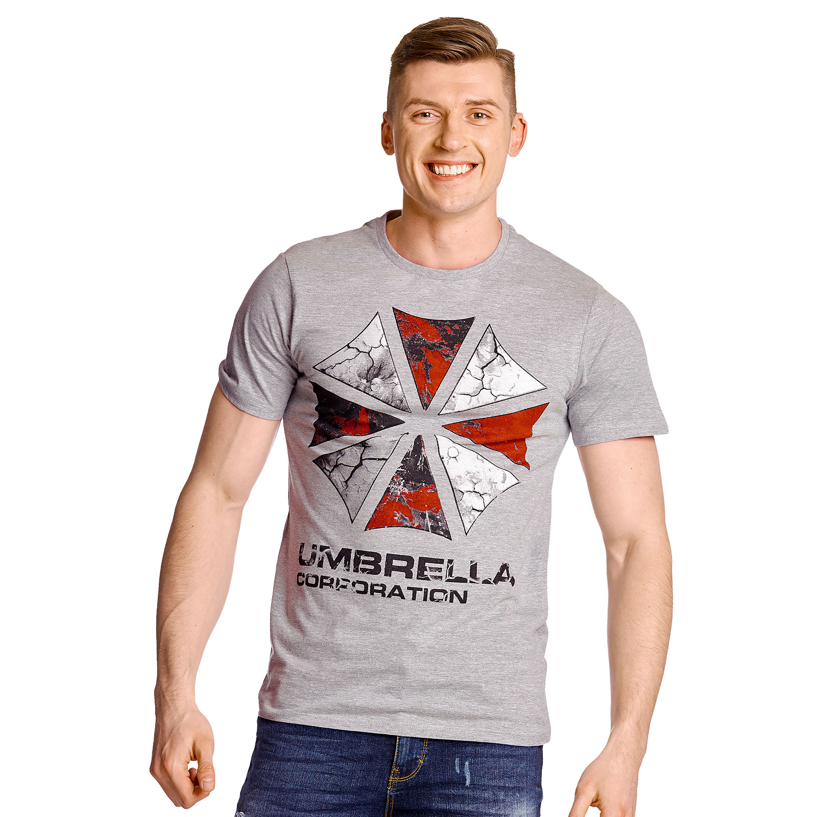 Resident Evil - Umbrella Corporation T-Shirt grau