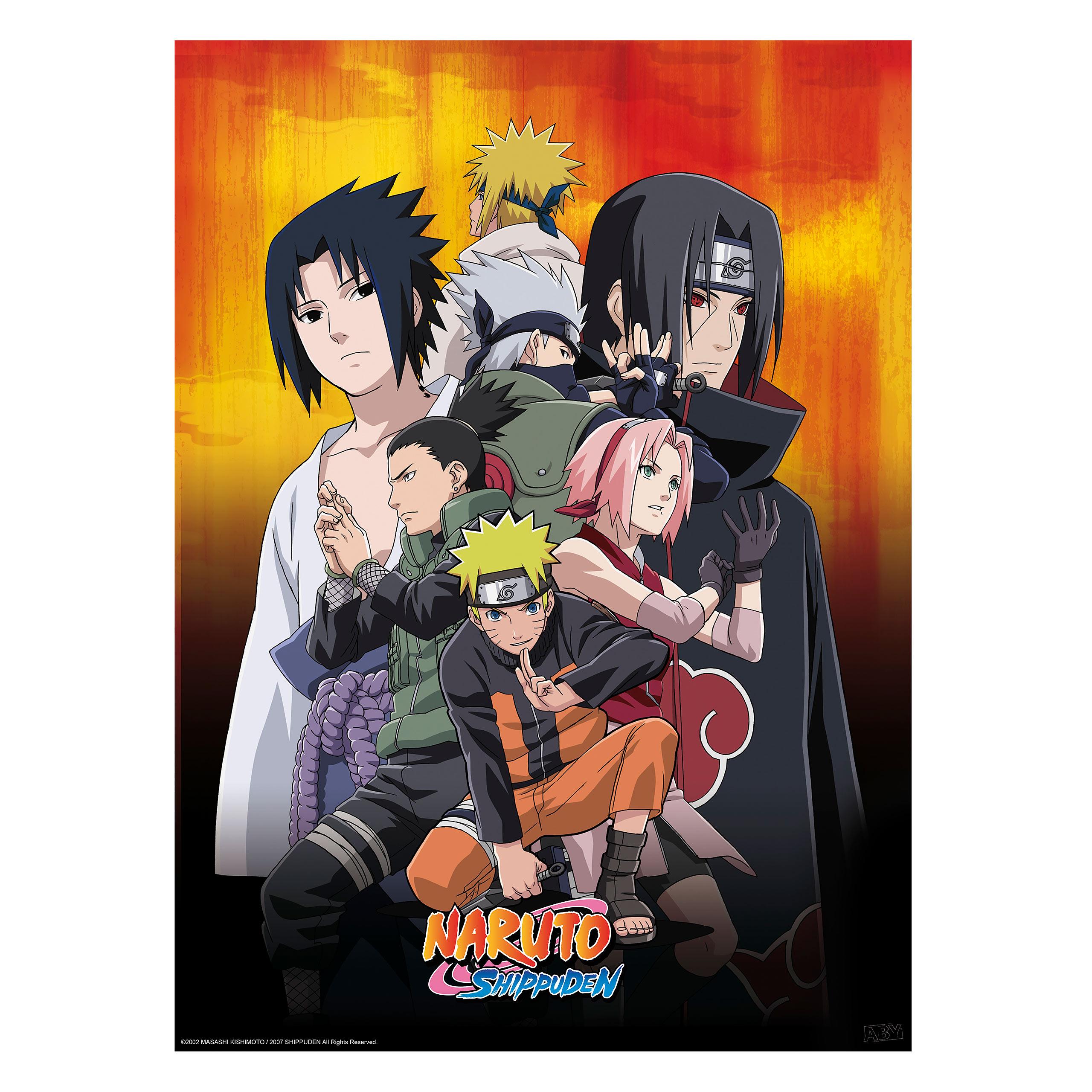 Naruto Shippuden - Ninjas Poster 2er Set
