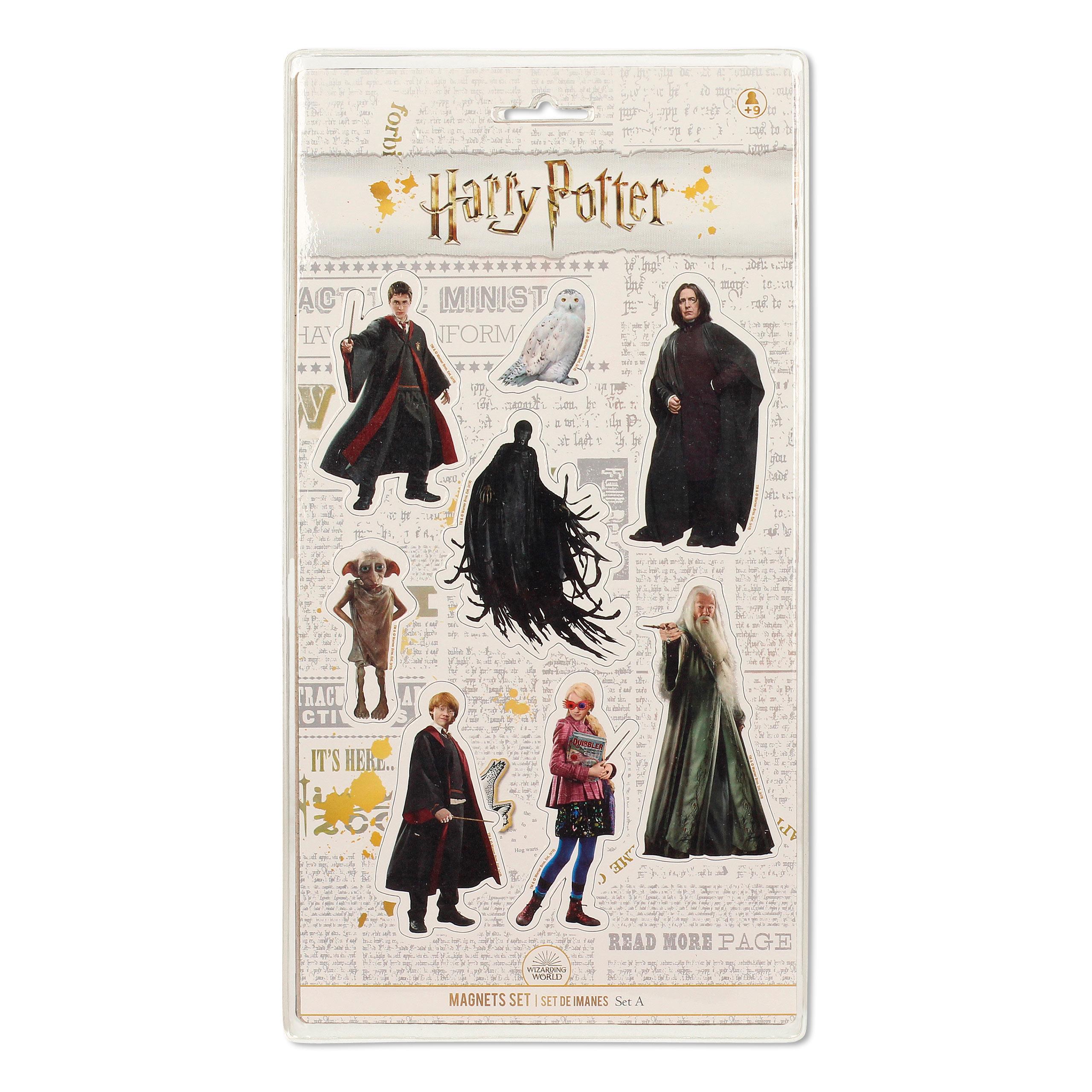 Harry Potter - Characters Magnet-Set 8-teilig