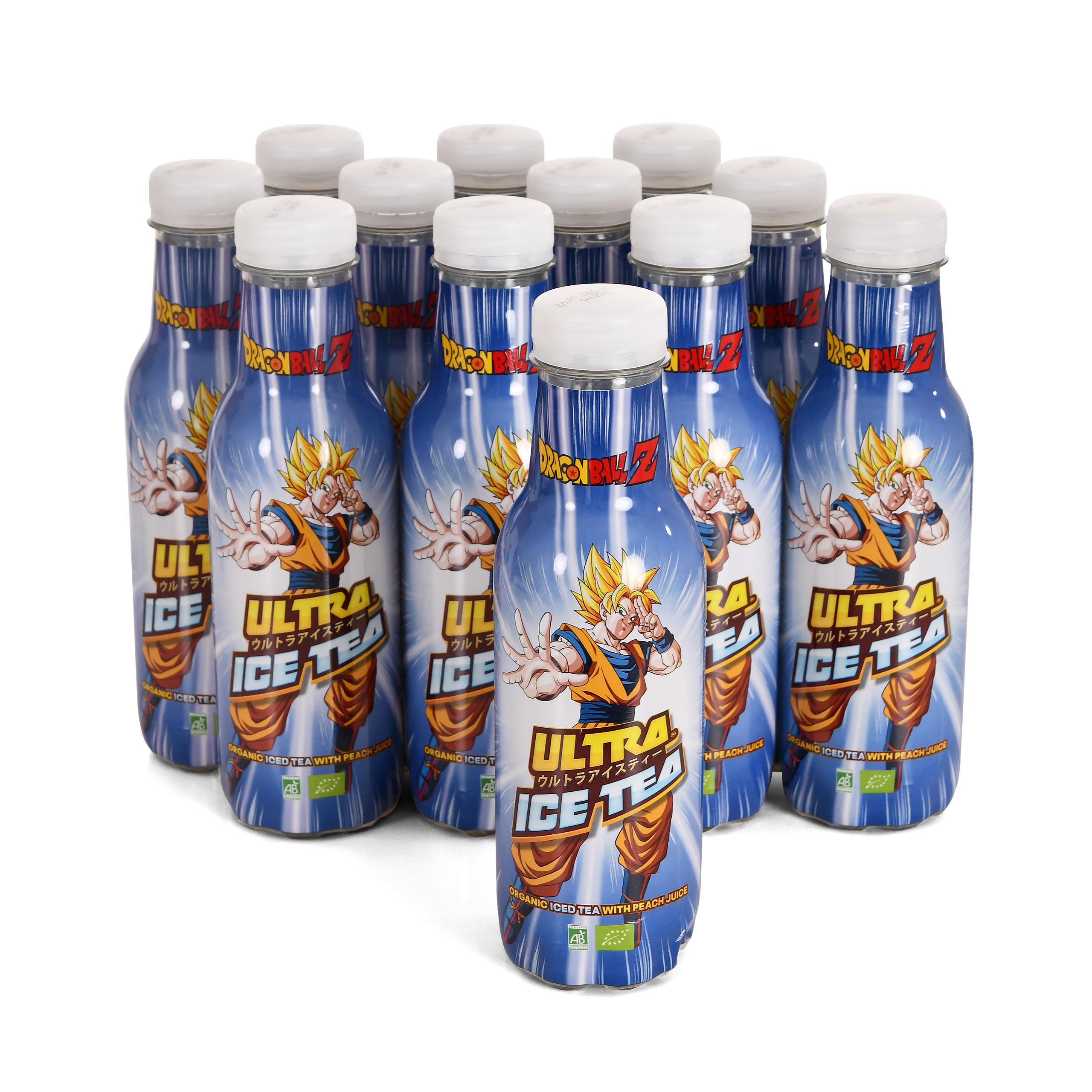 Dragon Ball Z - Goku Ultra Bio Eistee Pfirsich 12er Pack