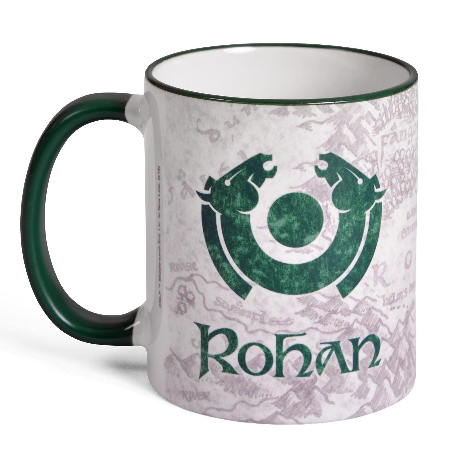 Herr der Ringe - Rohan Tasse