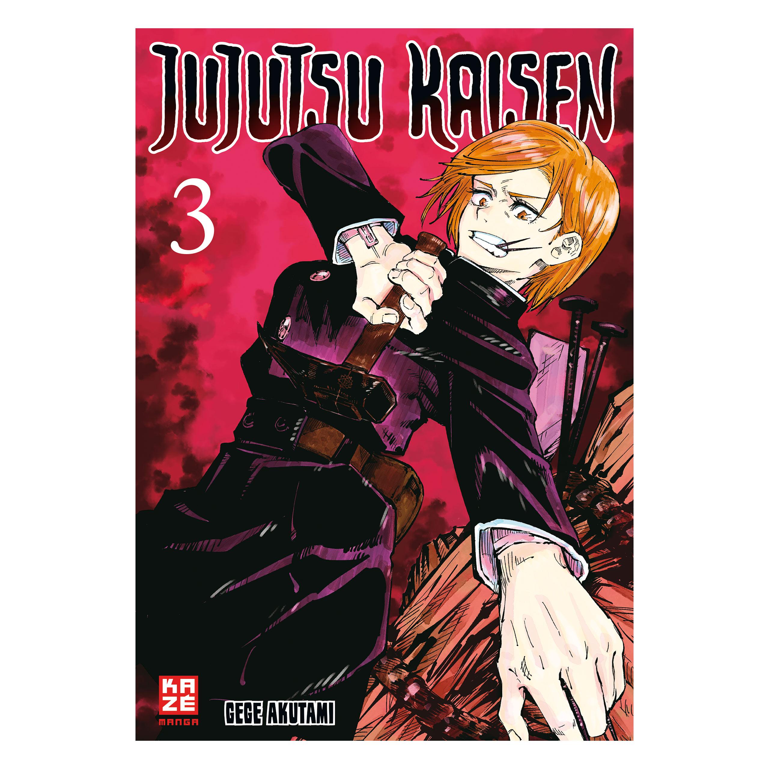 Jujutsu Kaisen - Band 3 Taschenbuch