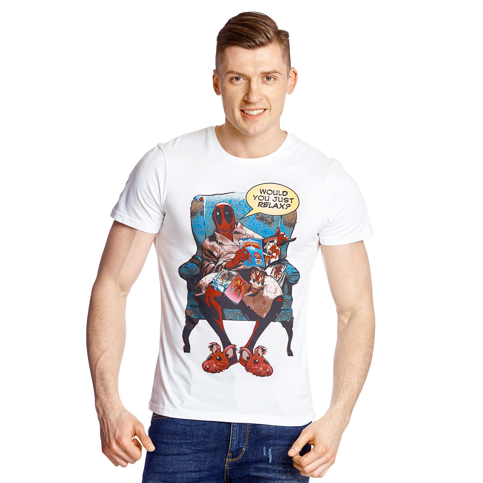 Deadpool - Just Relaxing T-Shirt