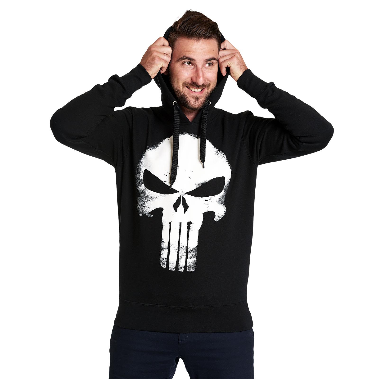 Punisher - Skull Logo Hoodie schwarz