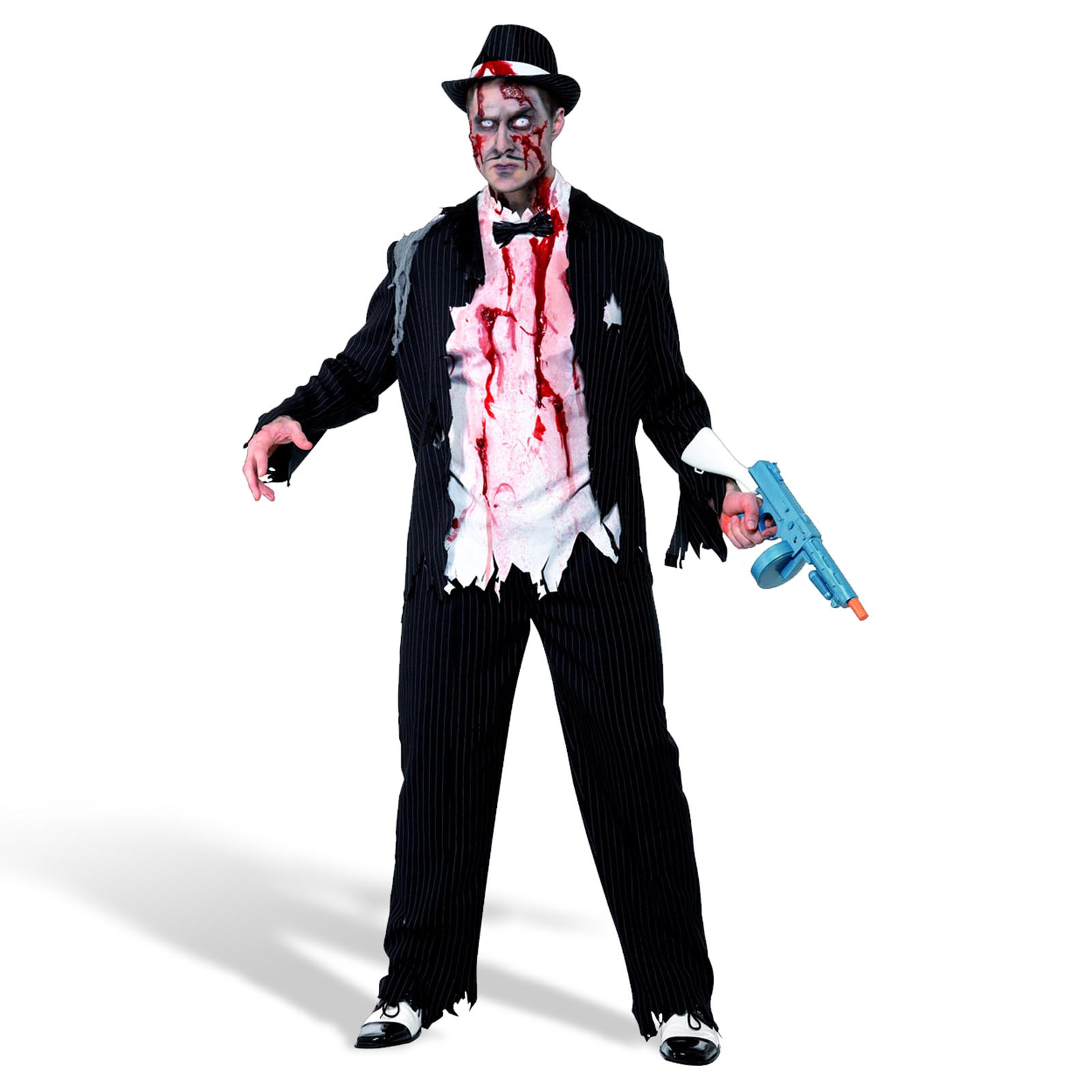 Zombie Gangster Kostüm