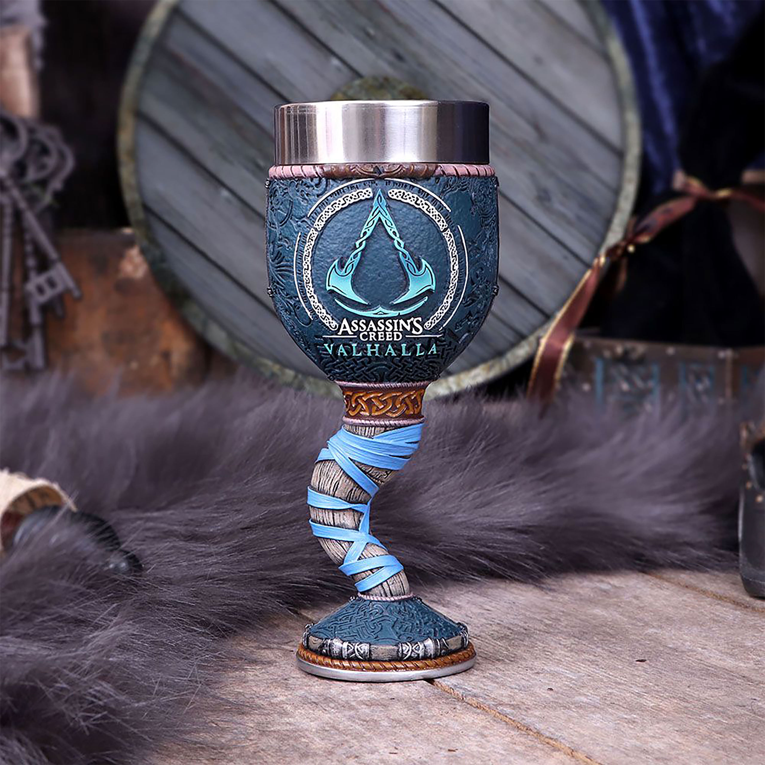 Assassin's Creed - Valhalla Logo Kelch deluxe