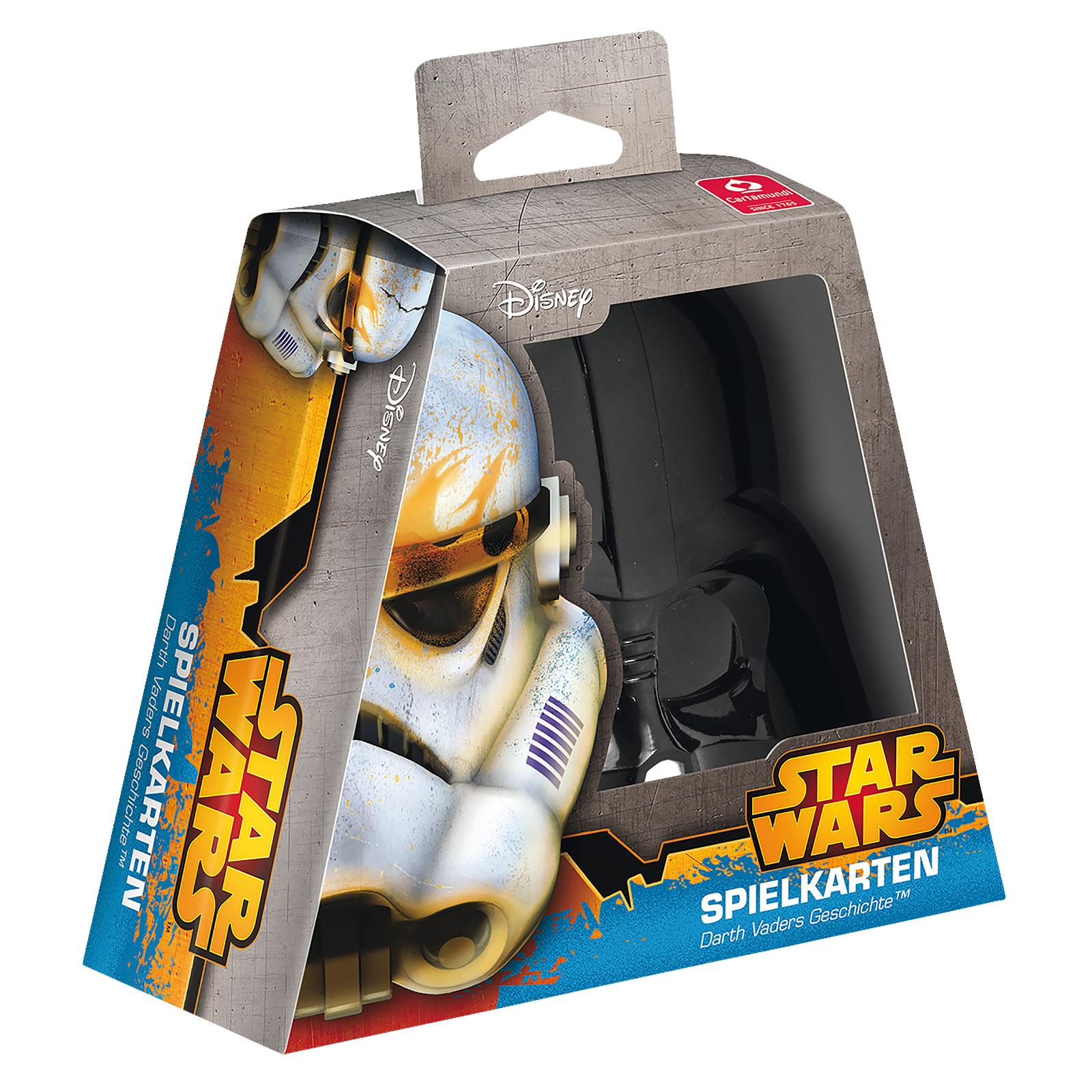 Star Wars - Darth Vader Spielkarten Fan-Edition