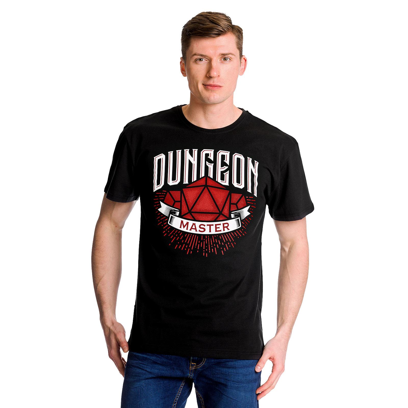 Dungeon Master T-Shirt schwarz