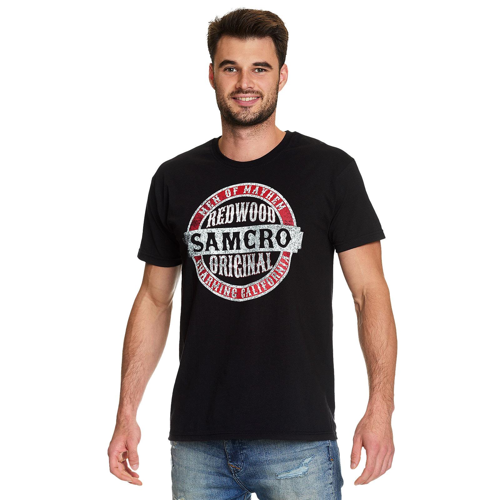 Sons of Anarchy - Samcro Redwood Original T-Shirt schwarz