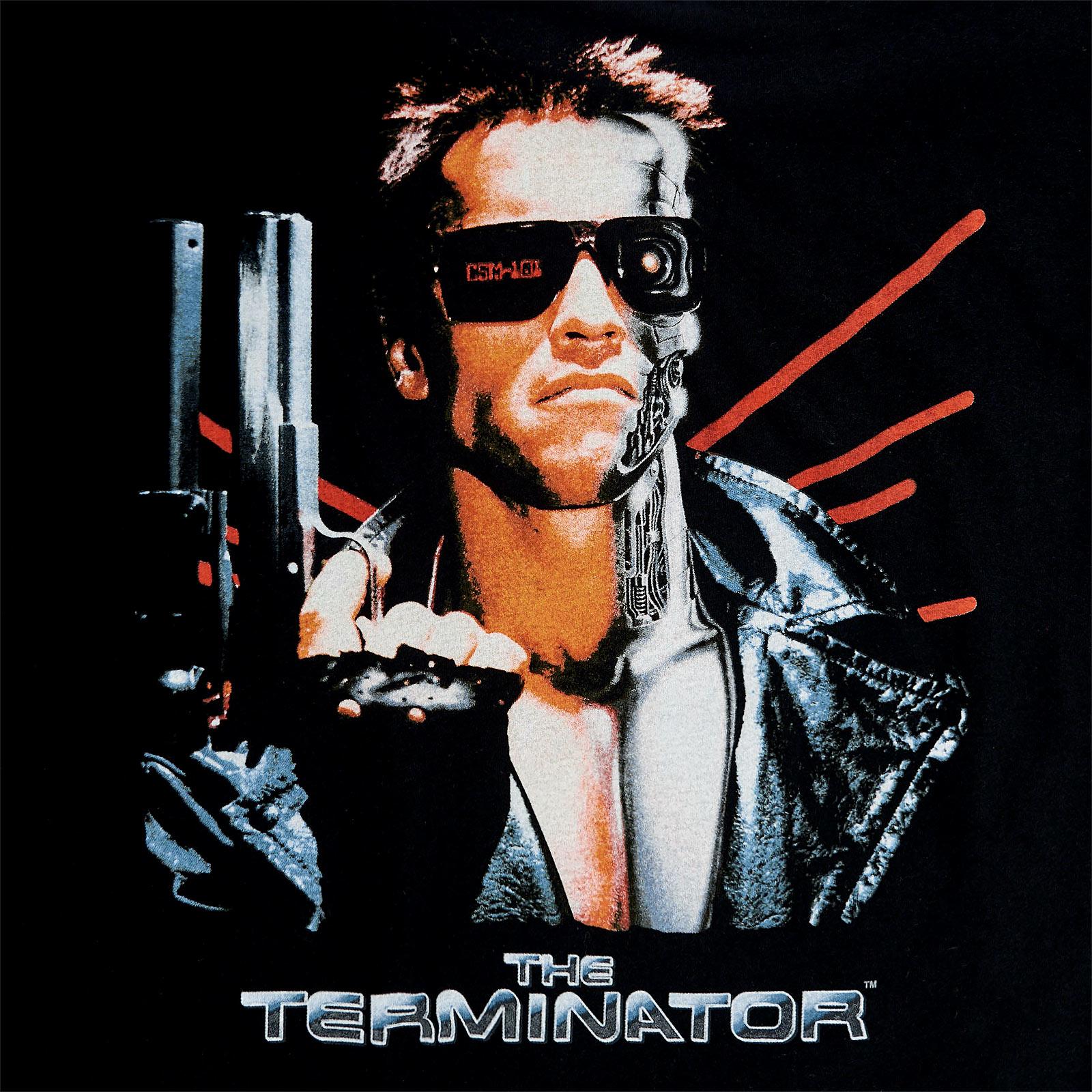 Terminator - Movie Poster T-Shirt schwarz