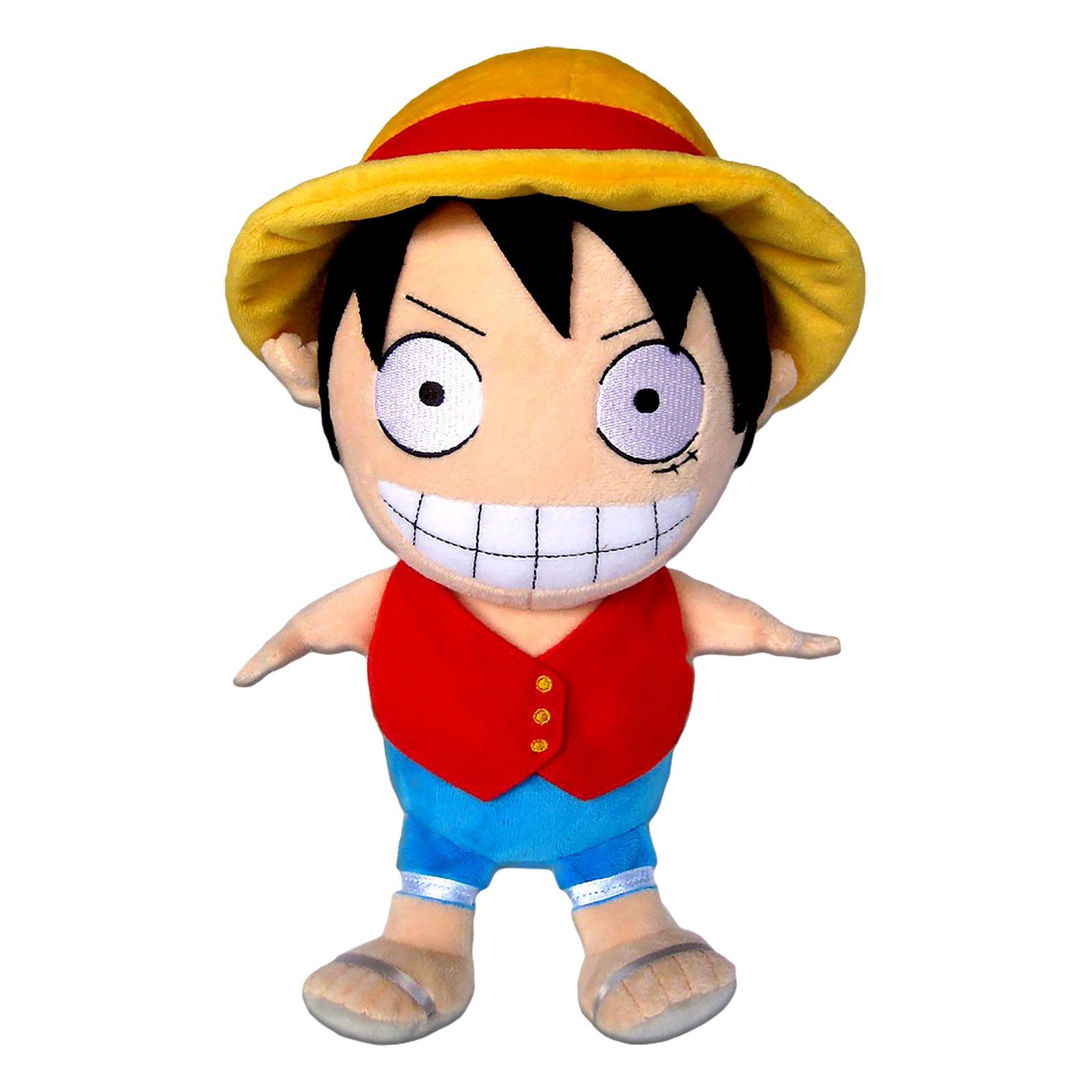 One Piece - Luffy Plüsch Figur 32 cm