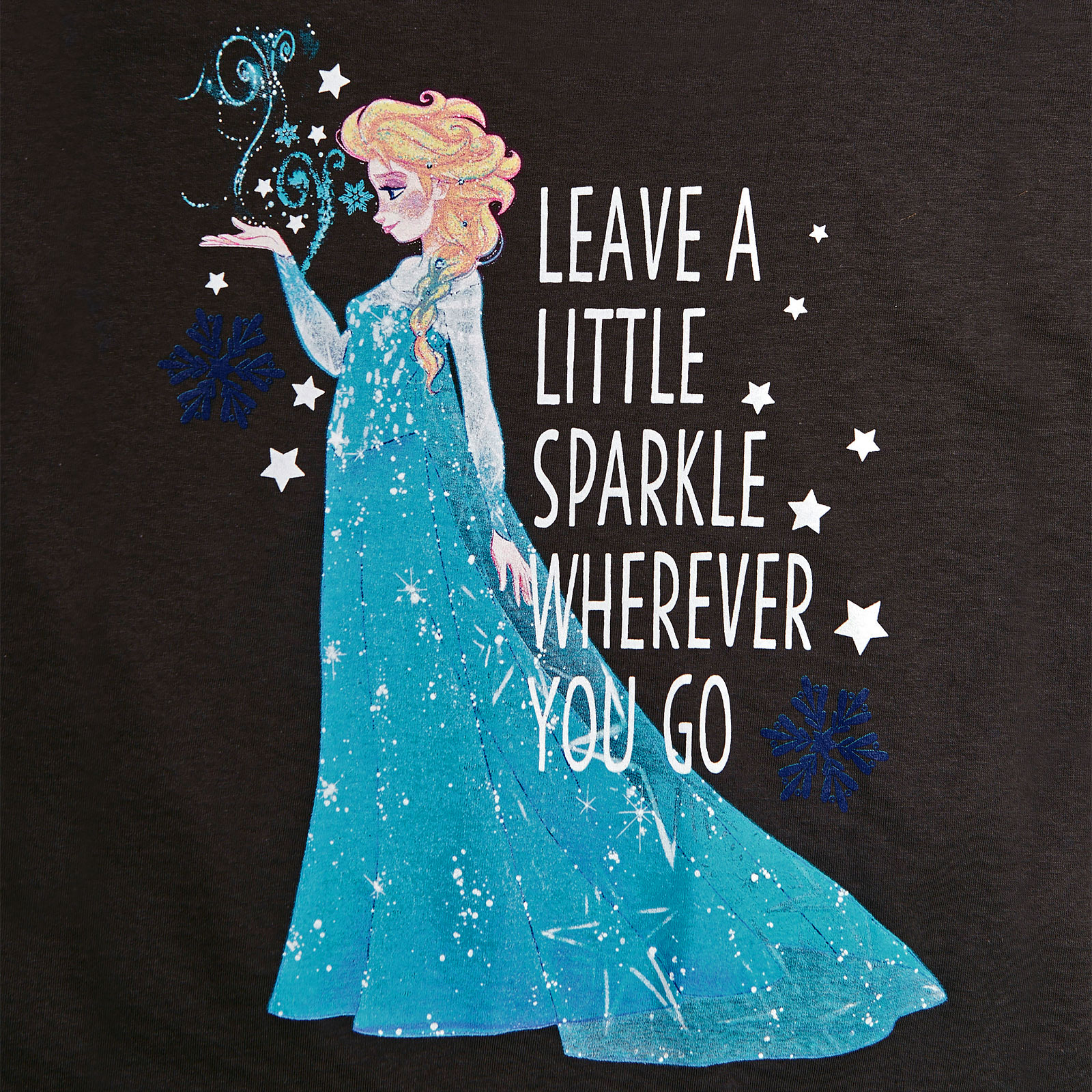 Frozen - Elsa Little Sparkle T-Shirt Damen grau