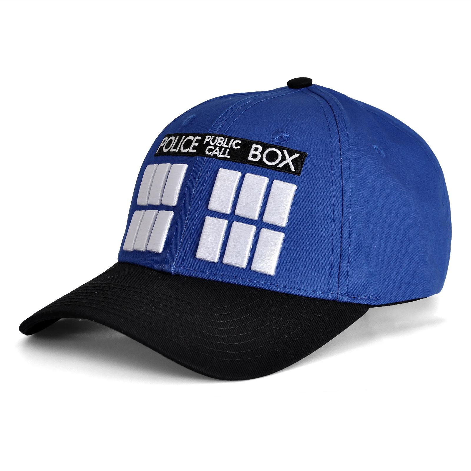 Doctor Who - Tardis Basecap blau