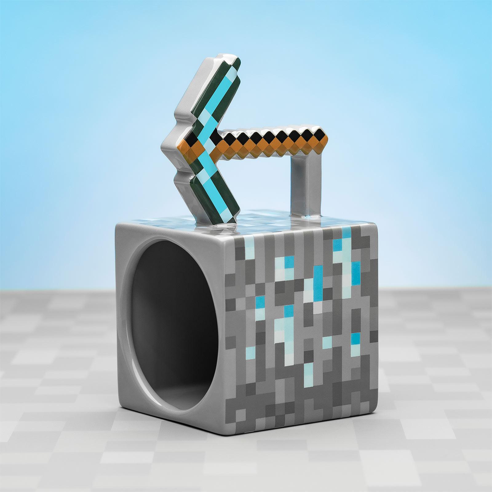 Minecraft - Pickaxe Tasse