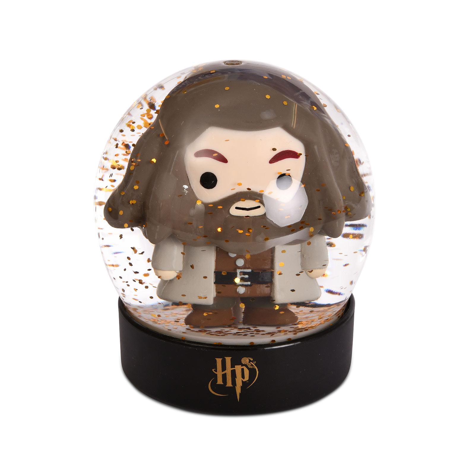 Harry Potter - Hagrid Chibi Schneekugel mit Glitter