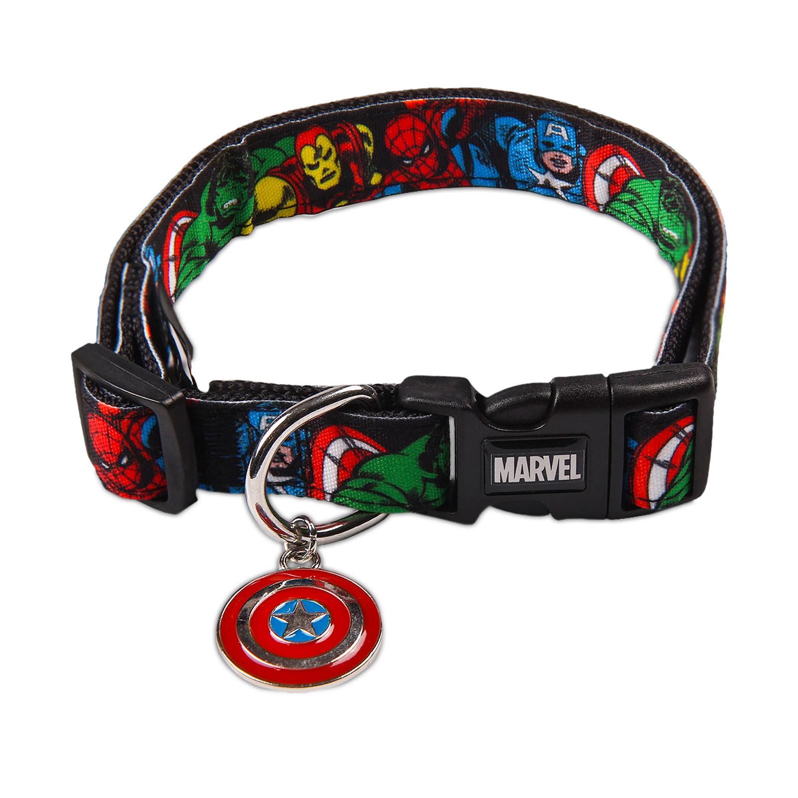 Avengers - Comic Heroes Klick-Halsband für Hunde