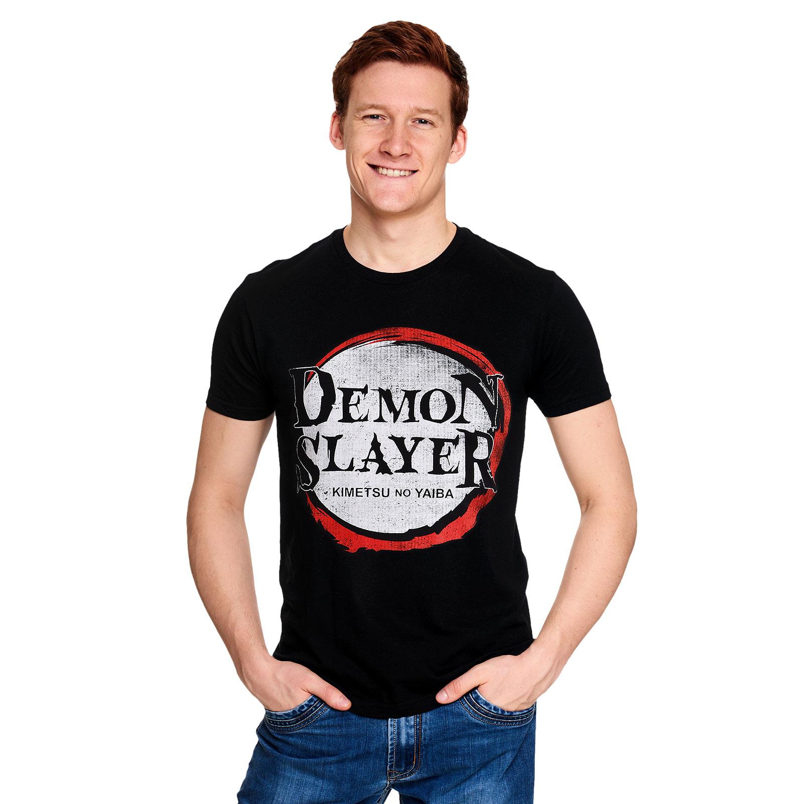 Demon Slayer - Logo T-Shirt schwarz
