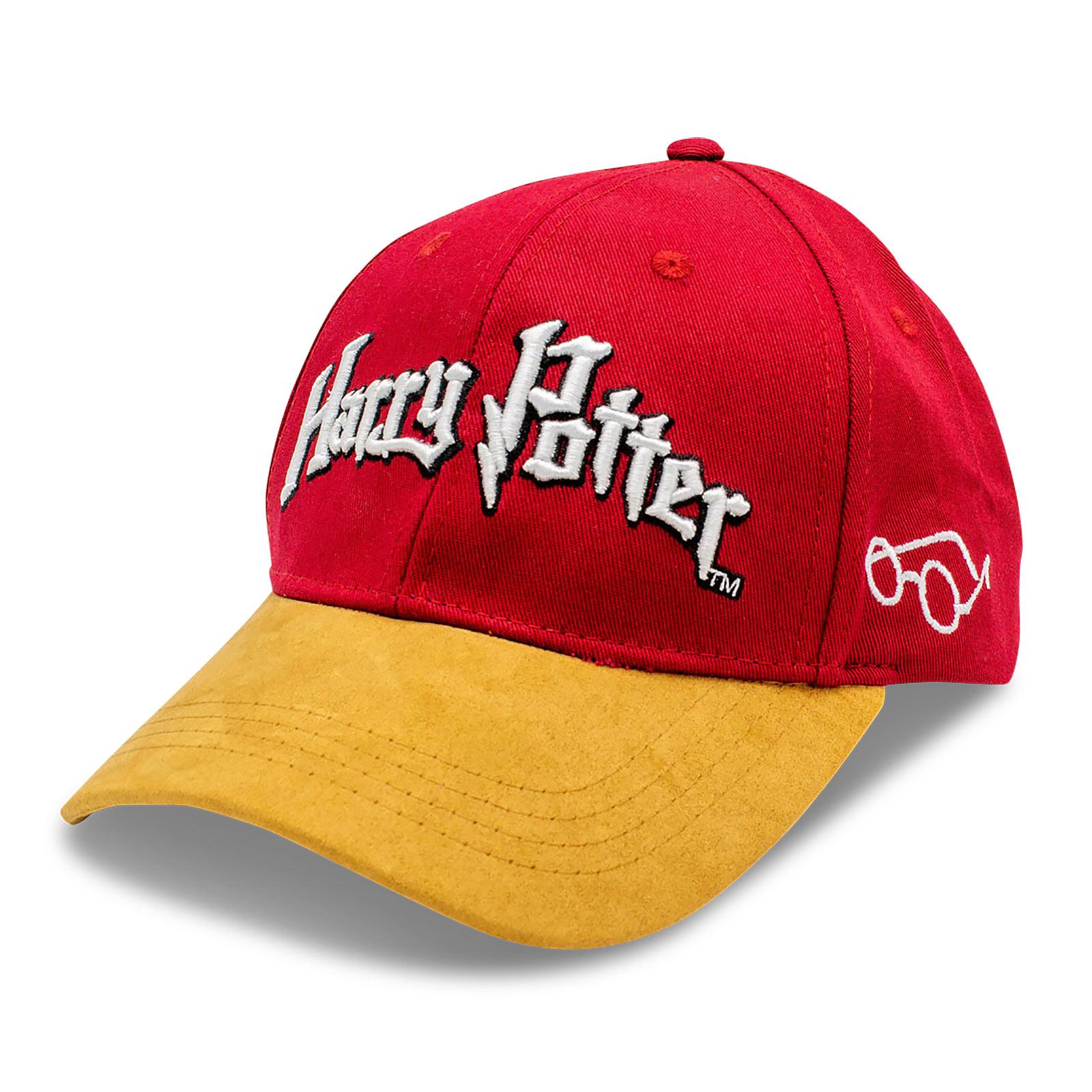 Harry Potter - Logo Basecap rot-braun