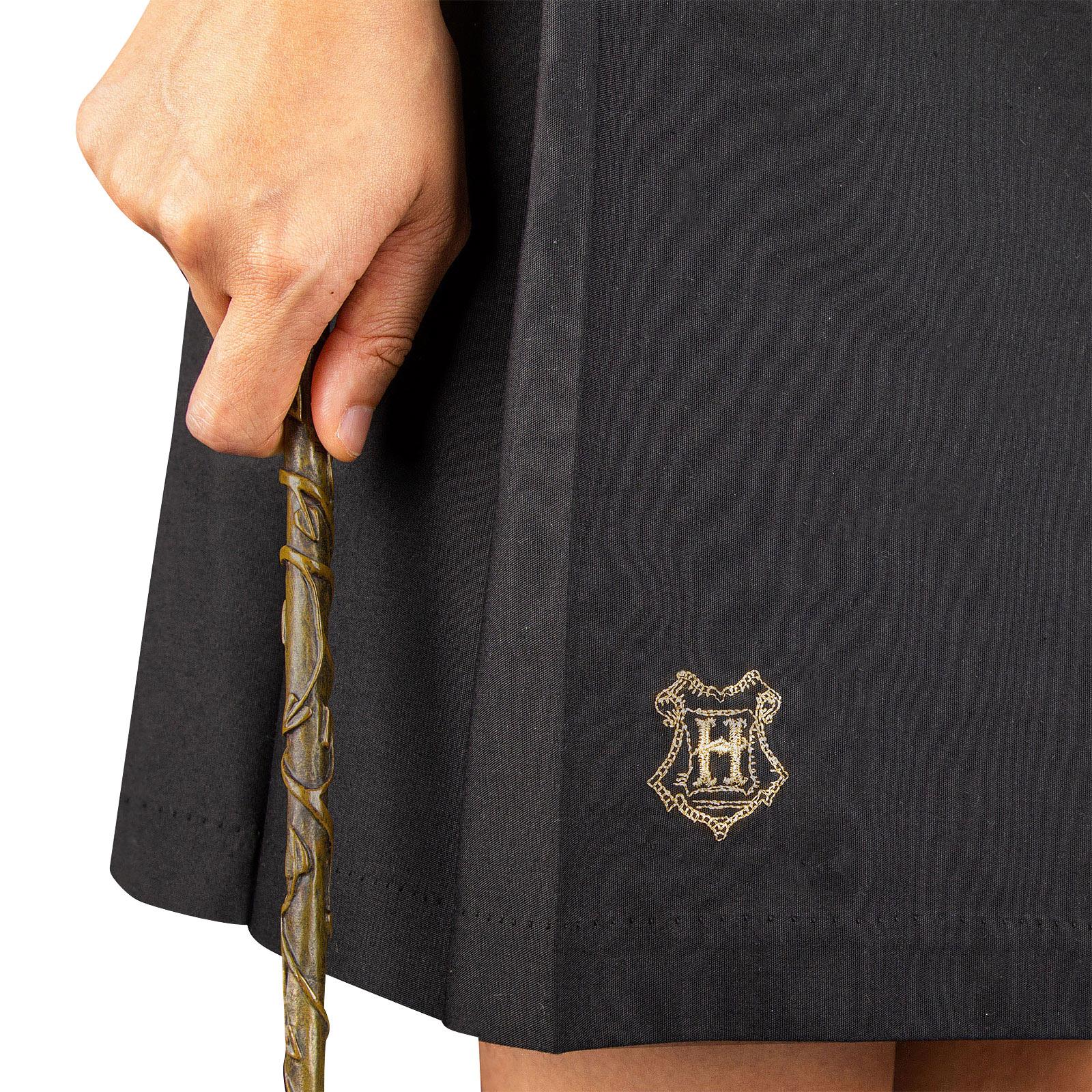 Harry Potter - Hermine Hogwarts Wappen Rock schwarz
