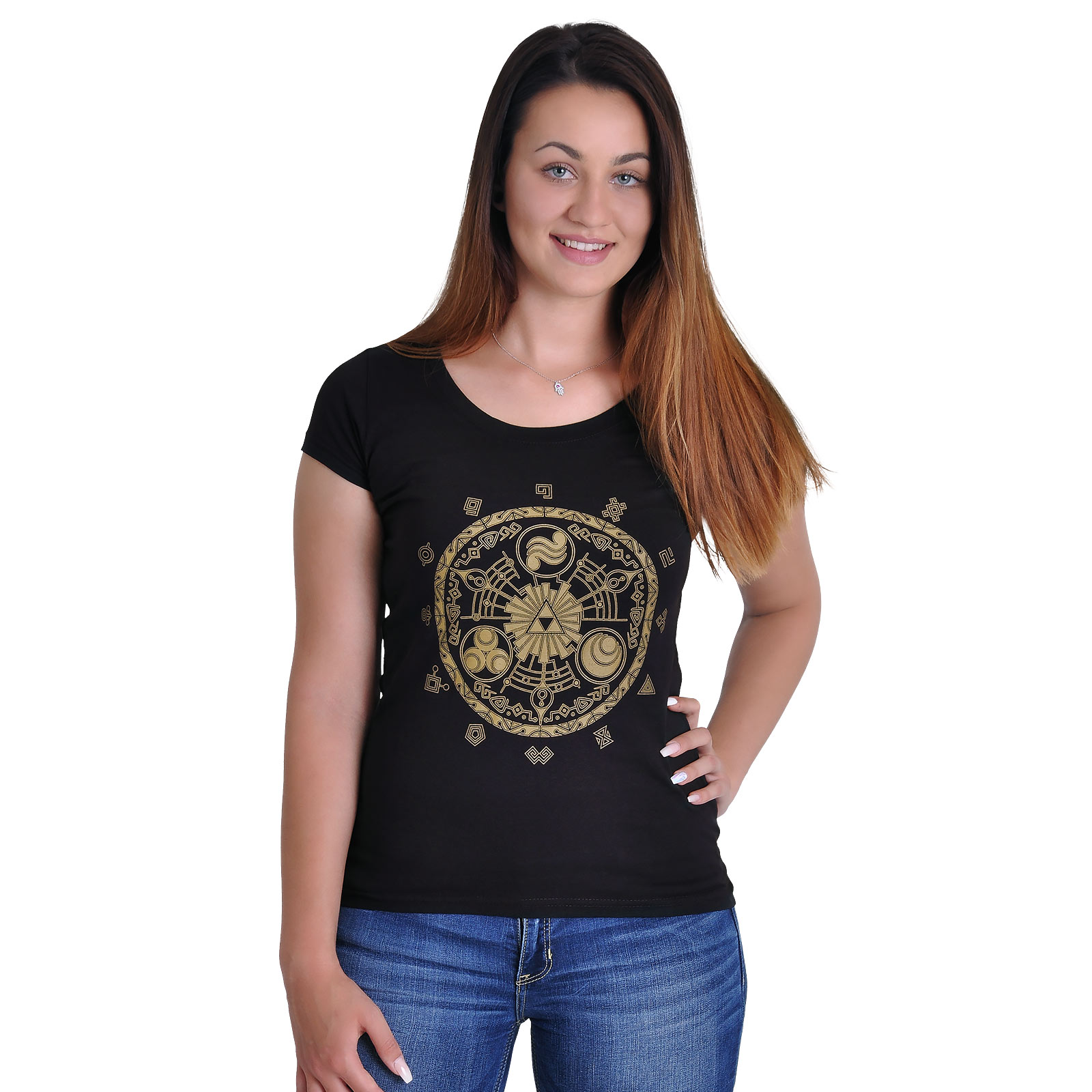 Zelda - Triforce Girlie Shirt