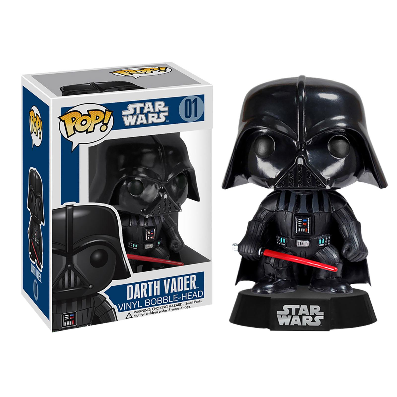Star Wars - Darth Vader Wackelkopf Figur 10 cm