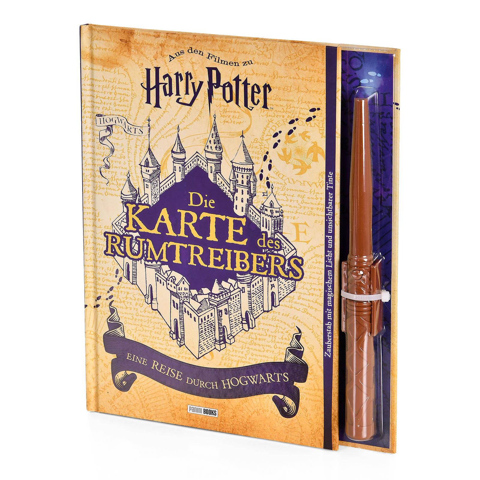 Harry Potter - Die Karte des Rumtreibers - Eine Reise durch Hogwarts