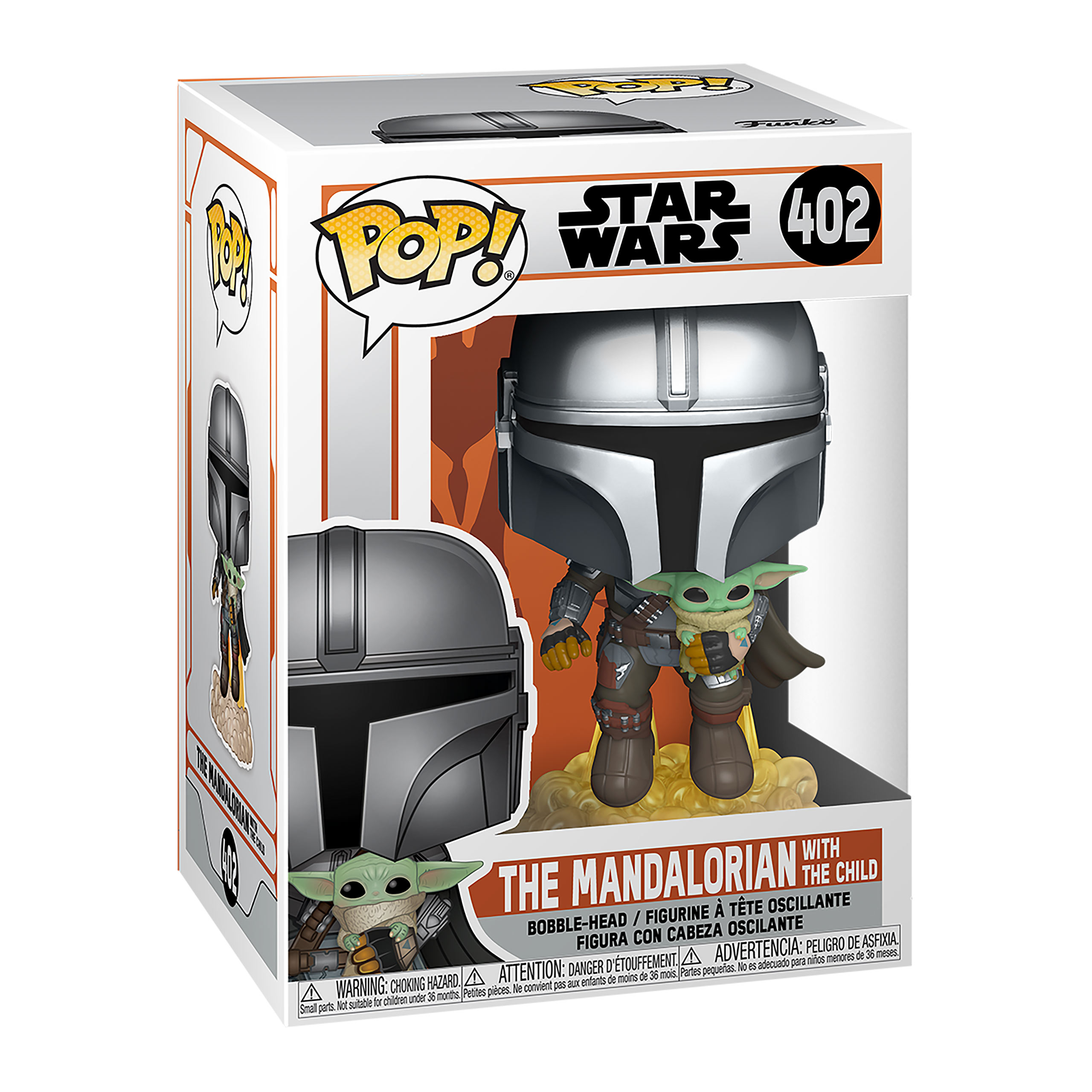 The Mandalorian mit The Child Funko Pop Wackelkopf-Figur - Star Wars