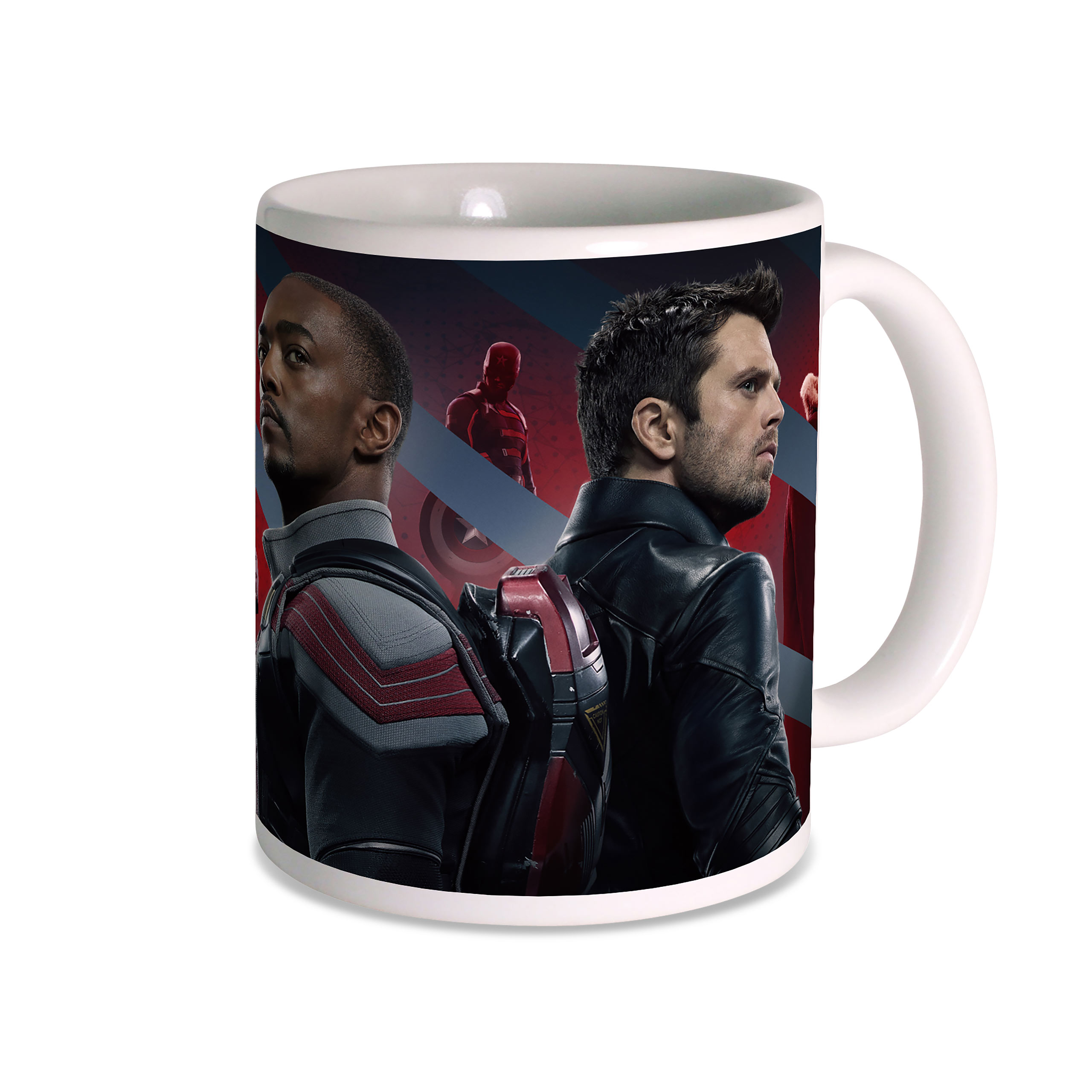 The Falcon and the Winter Soldier - Poster Tasse