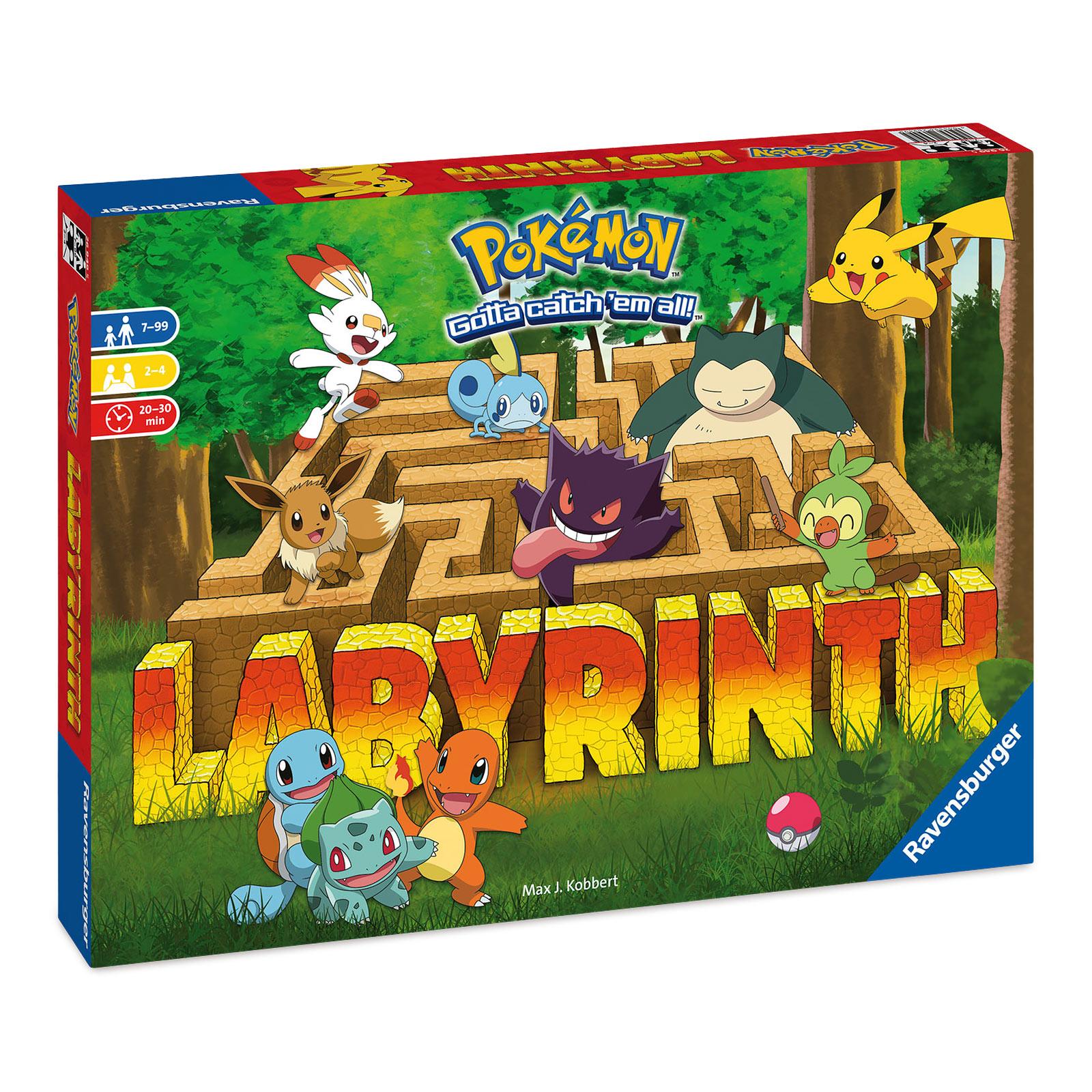 Pokemon - Das verrückte Labyrinth Brettspiel