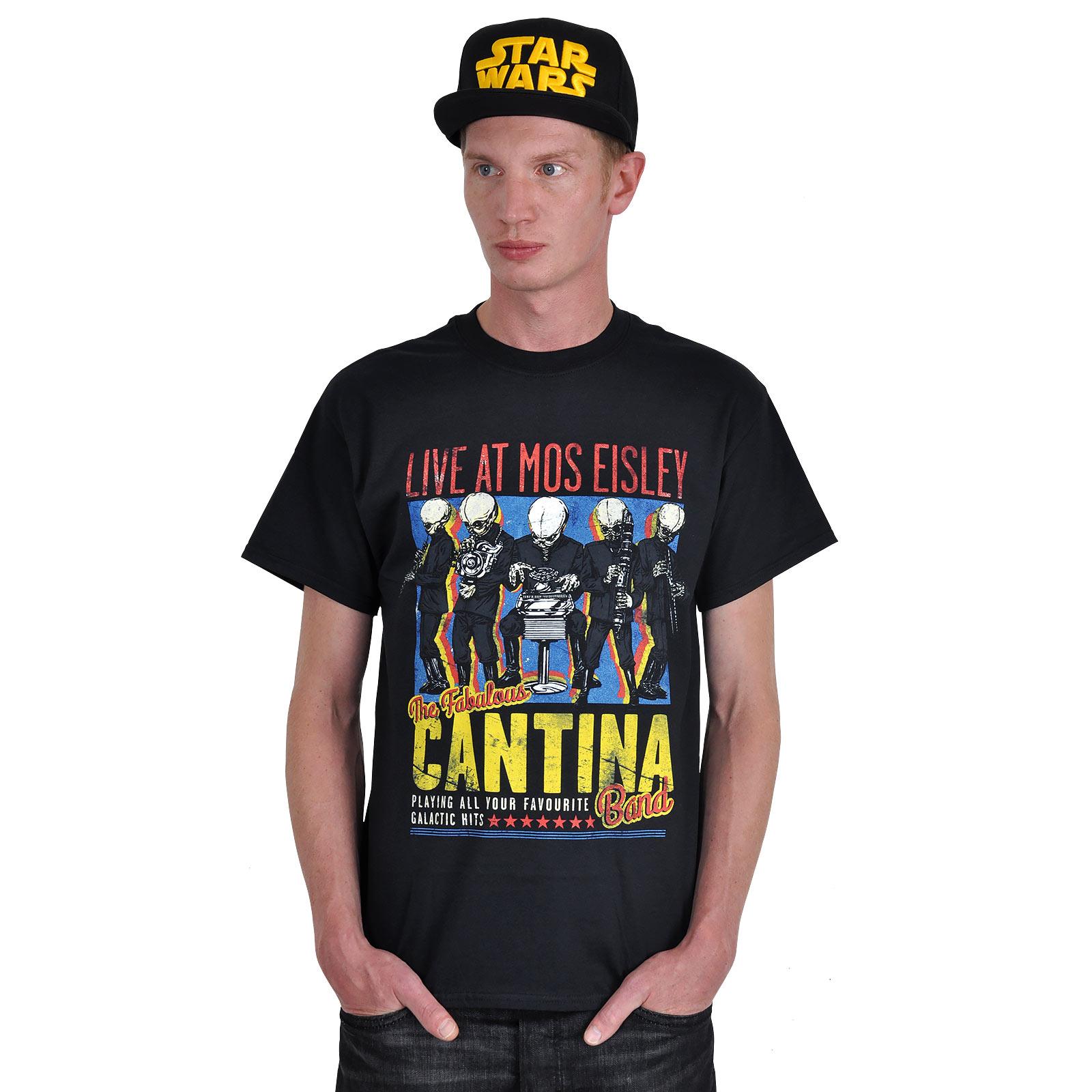 Cantina Band T-Shirt schwarz