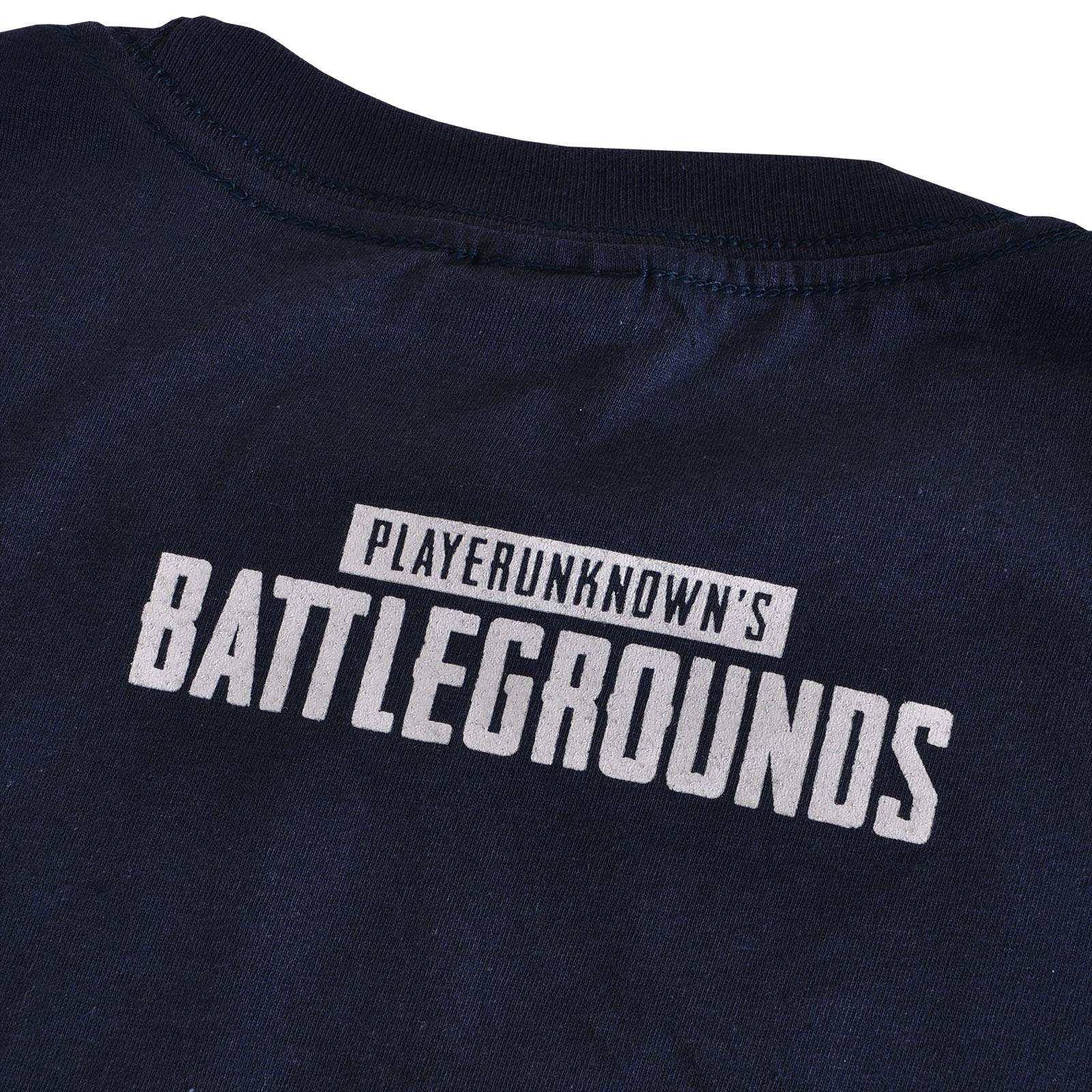 PUBG - Level 3 T-Shirt blau