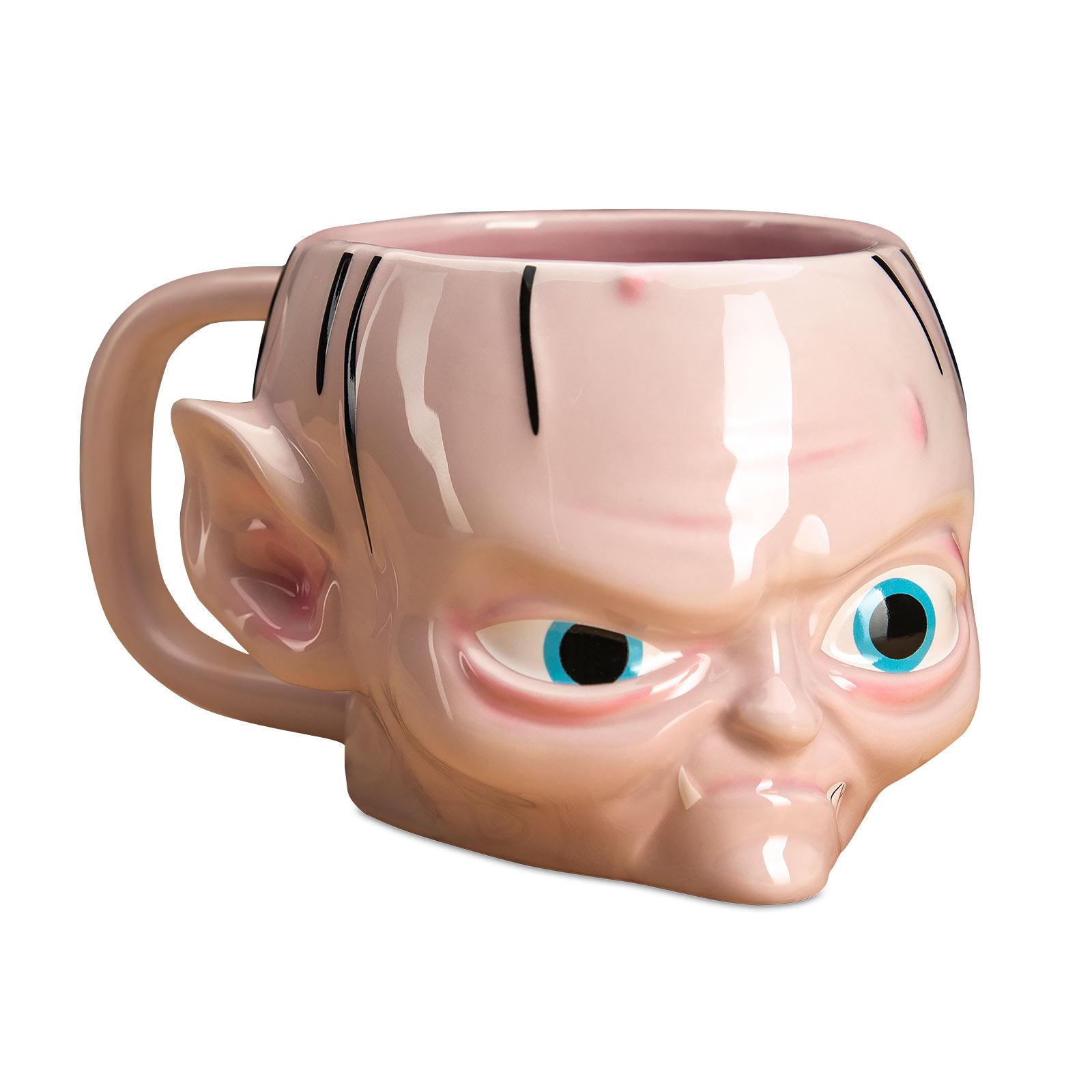 Herr der Ringe - Gollum 3D Tasse