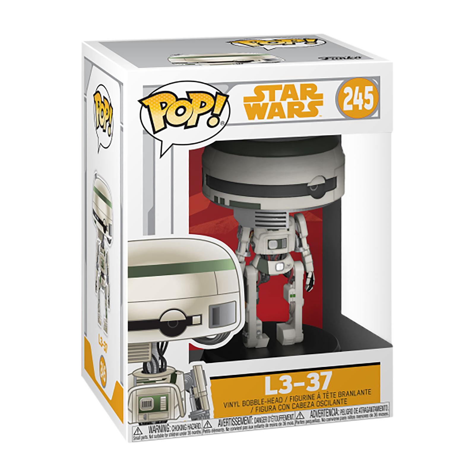Star Wars - L3-37 Funko Pop Wackelkopf-Figur