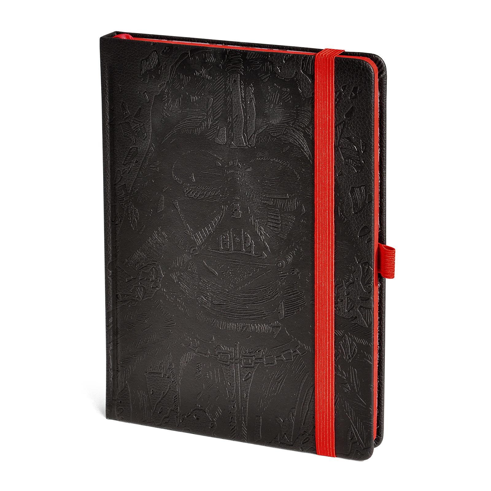 Star Wars - Darth Vader Art Premium Notizbuch A5