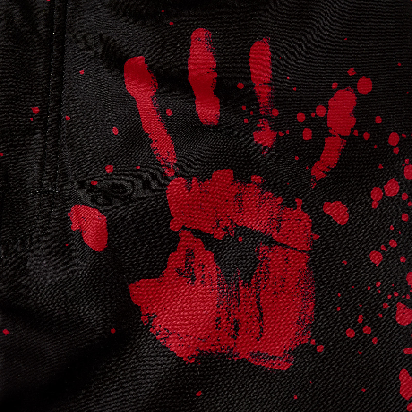 Walking Dead - Blood Hands Badeshorts schwarz