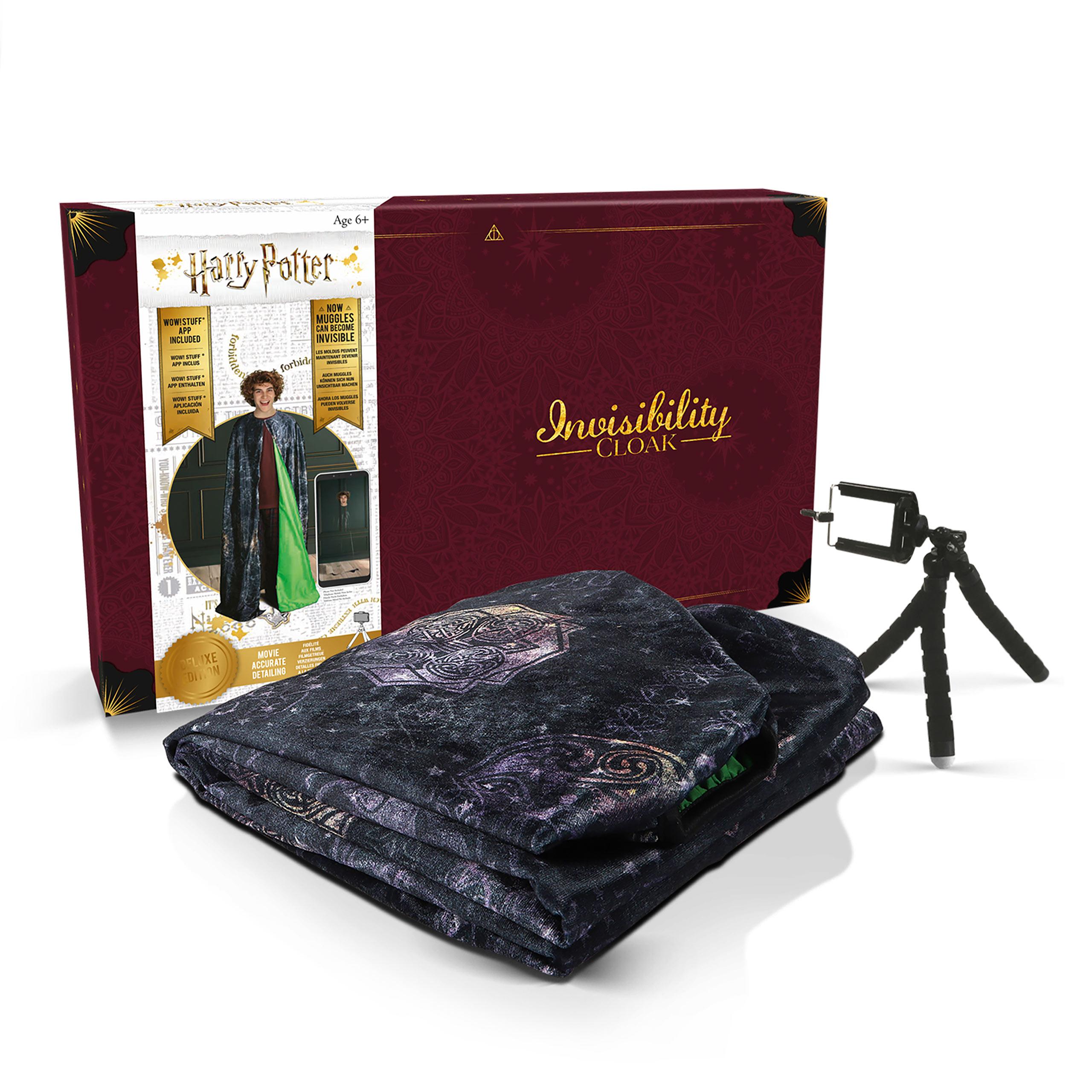 Harry Potter Tarnumhang App-optimiert mit Stativ