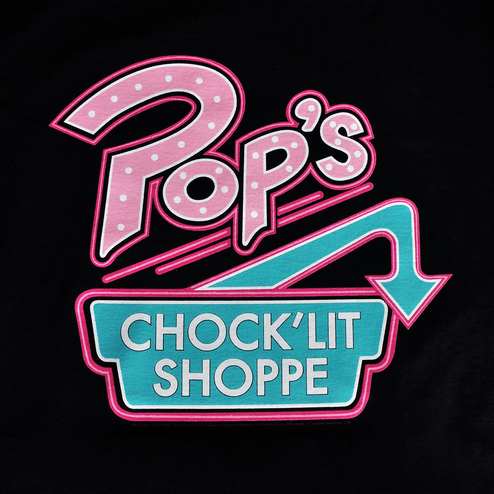 Riverdale - Pop's Chock'lit Shoppe T-Shirt schwarz
