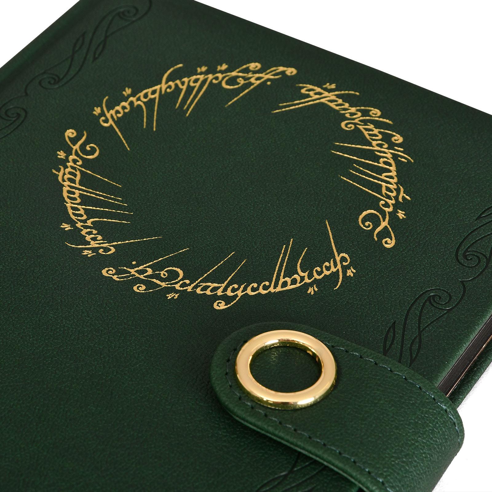 Herr der Ringe - Der Eine Ring Premium Notizbuch A5