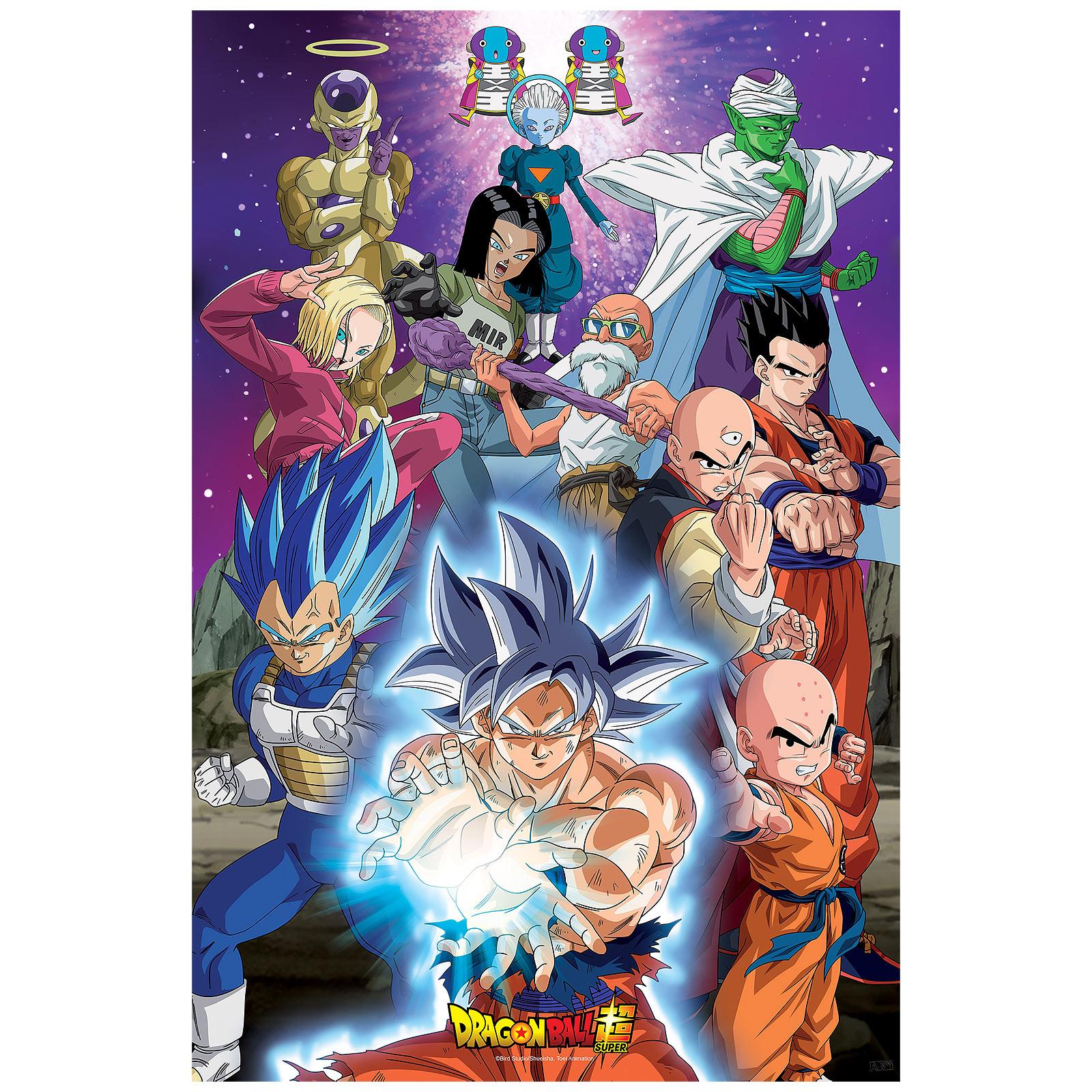 Dragon Ball Super - Universe 7 Maxi Poster
