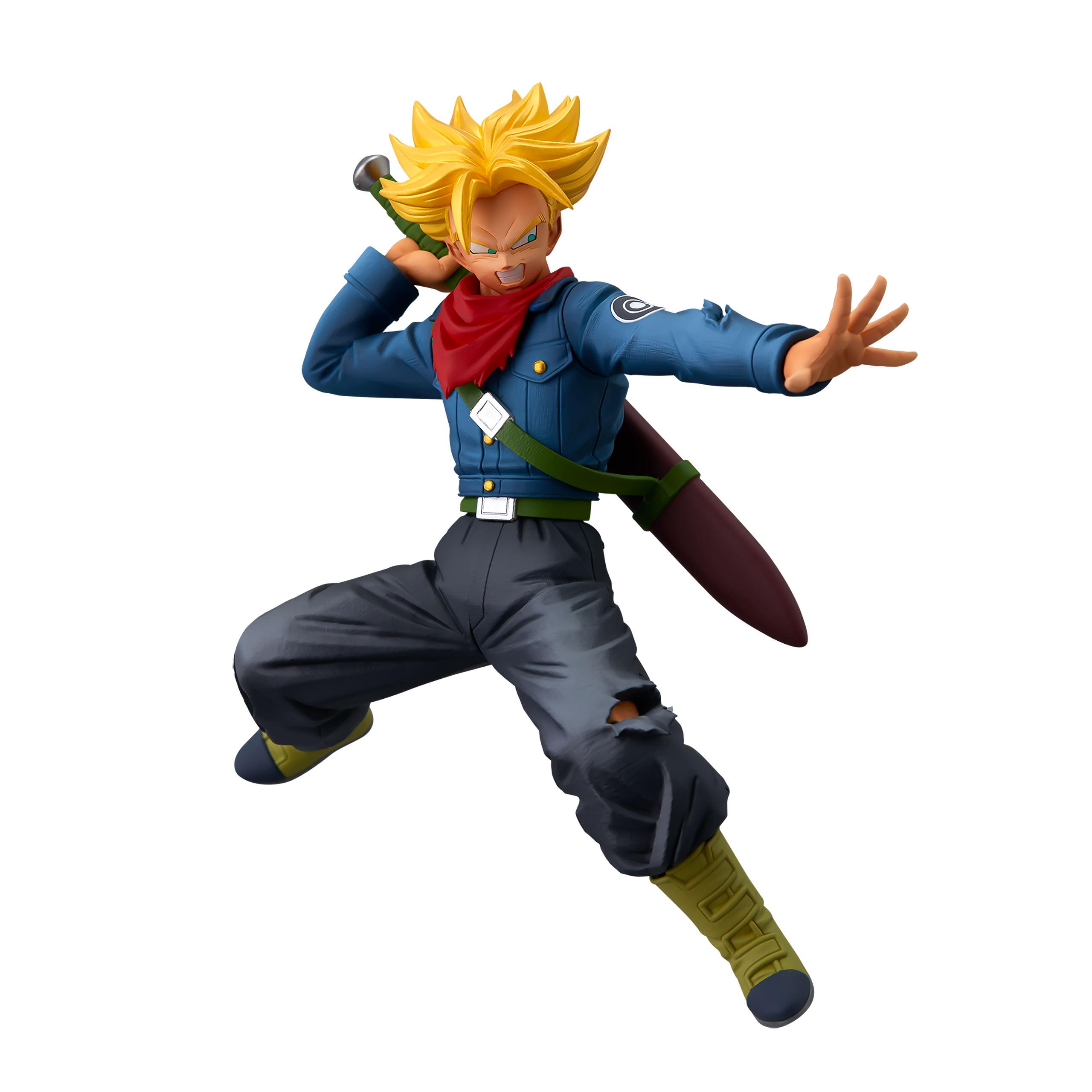Dragon Ball Super - Super Saiyajin Trunks Future Battle Figur 17 cm